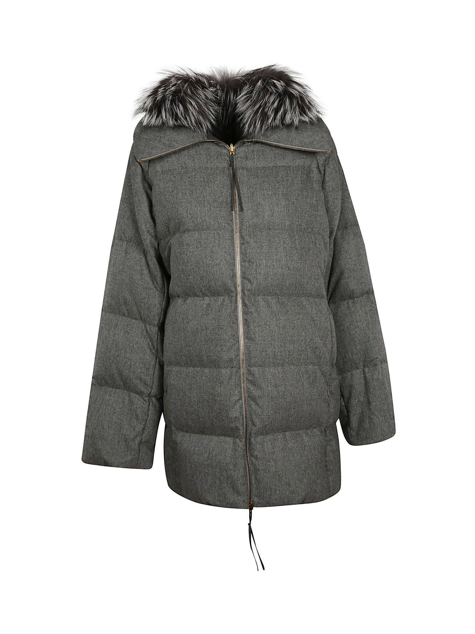 Fur Padded Jacket