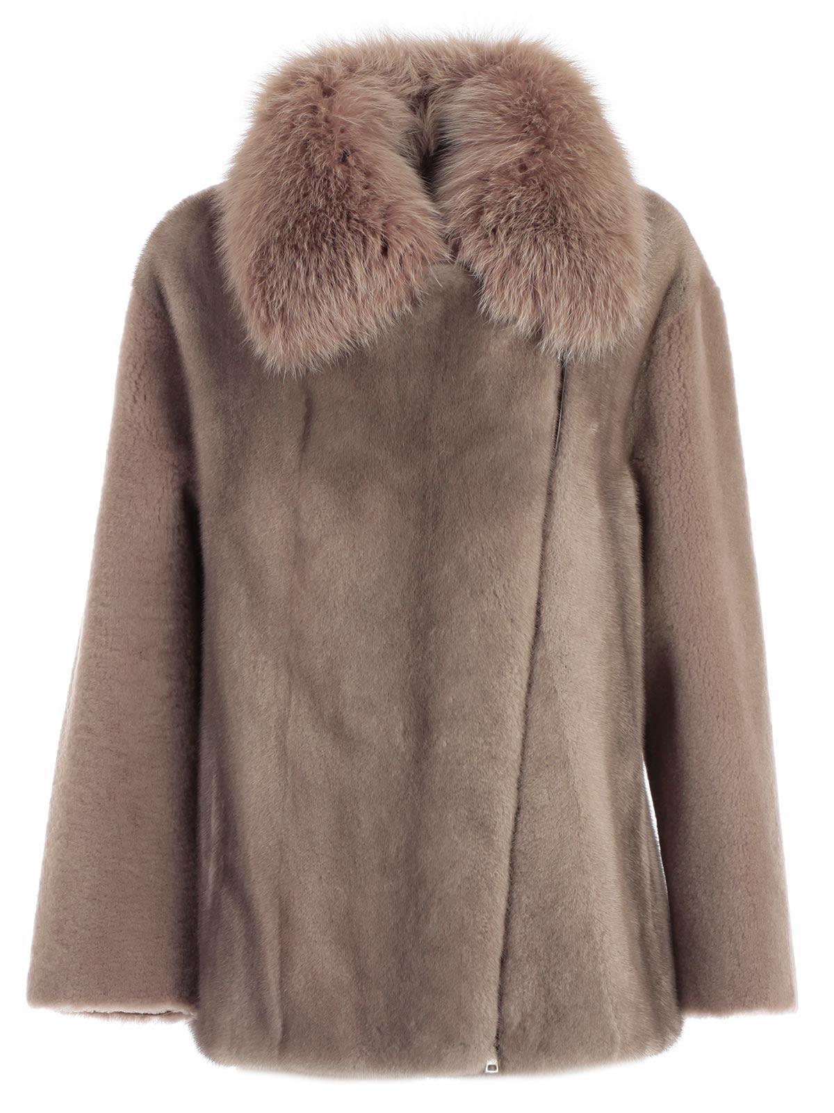 Blancha Fur Trimmed Jacket