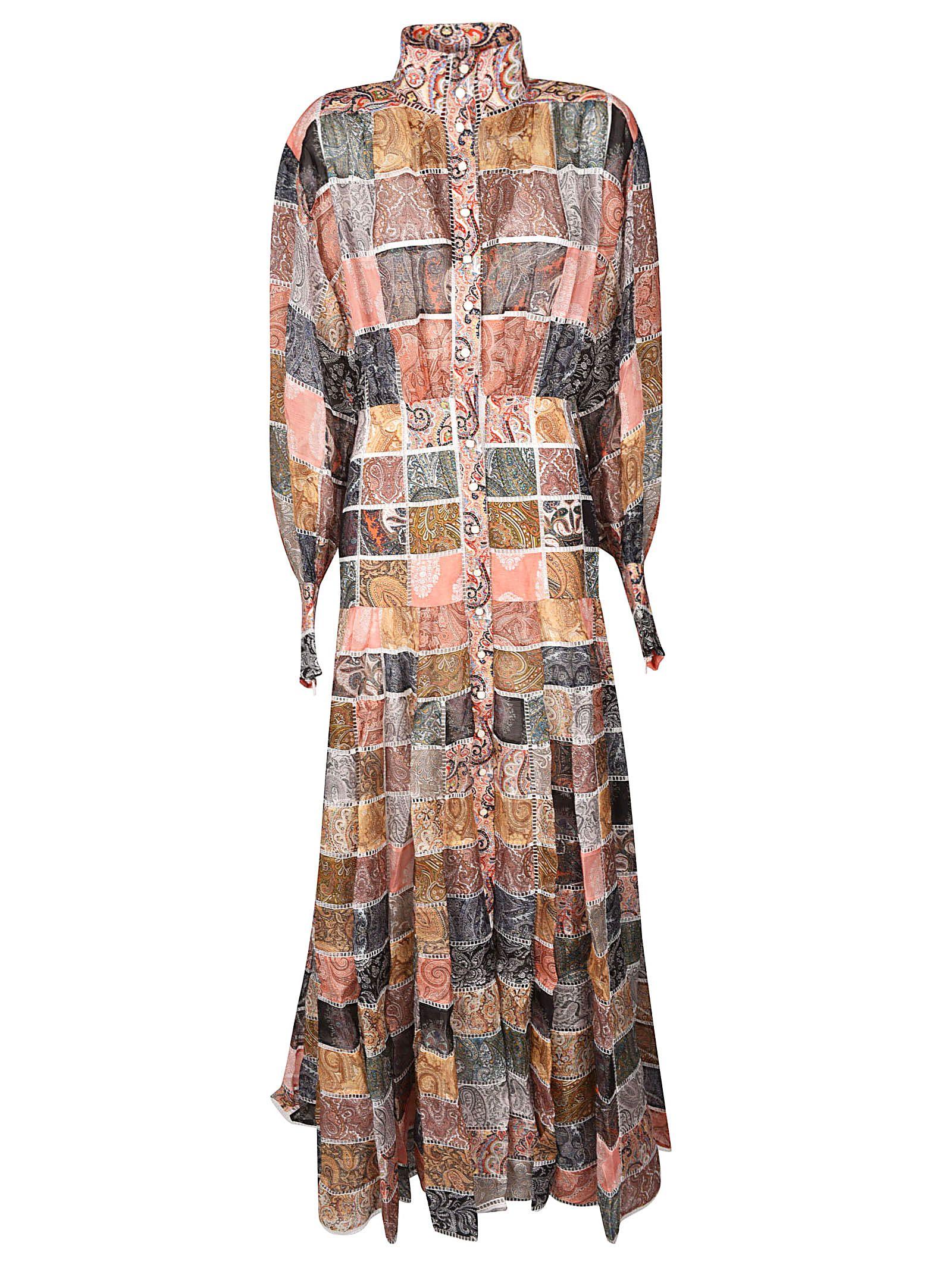 Zimmermann Dresses PATCHWORK PAISLEY DRESS