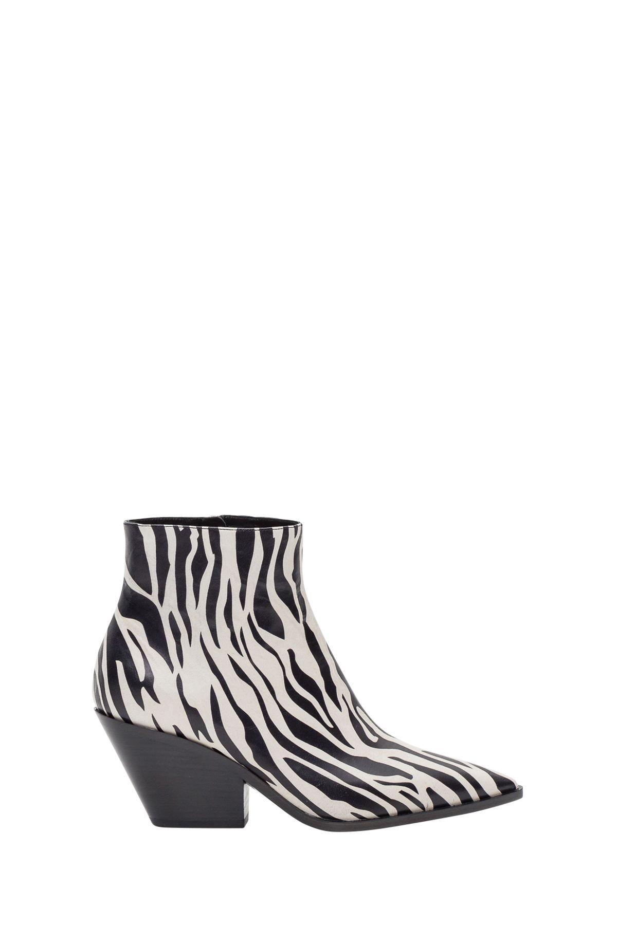 casadei -  Zebra Western Boots