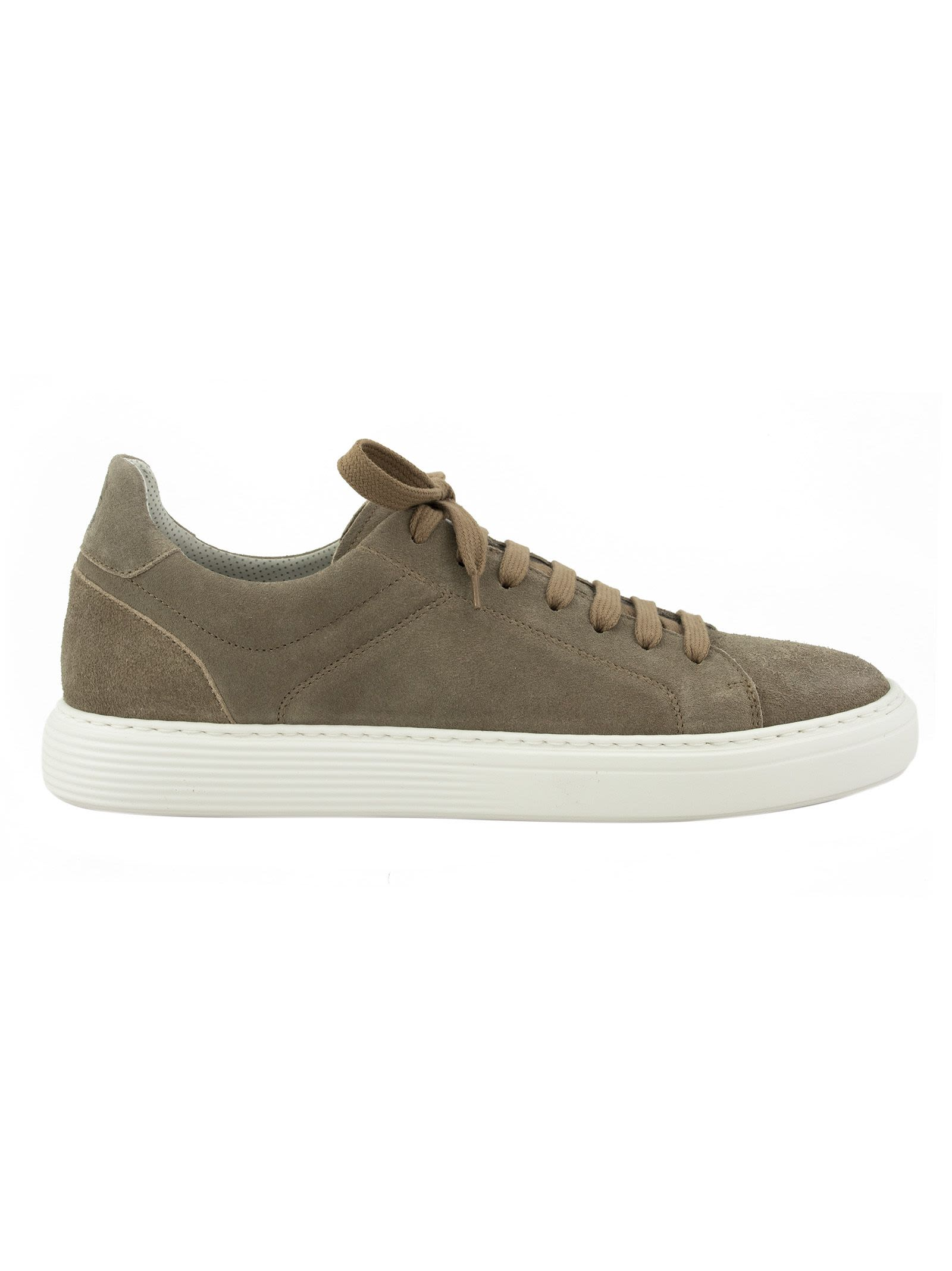 Brunello Cucinelli Logo Patch Sneakers