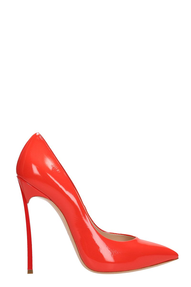 Casadei Red Patent Leather Pumps