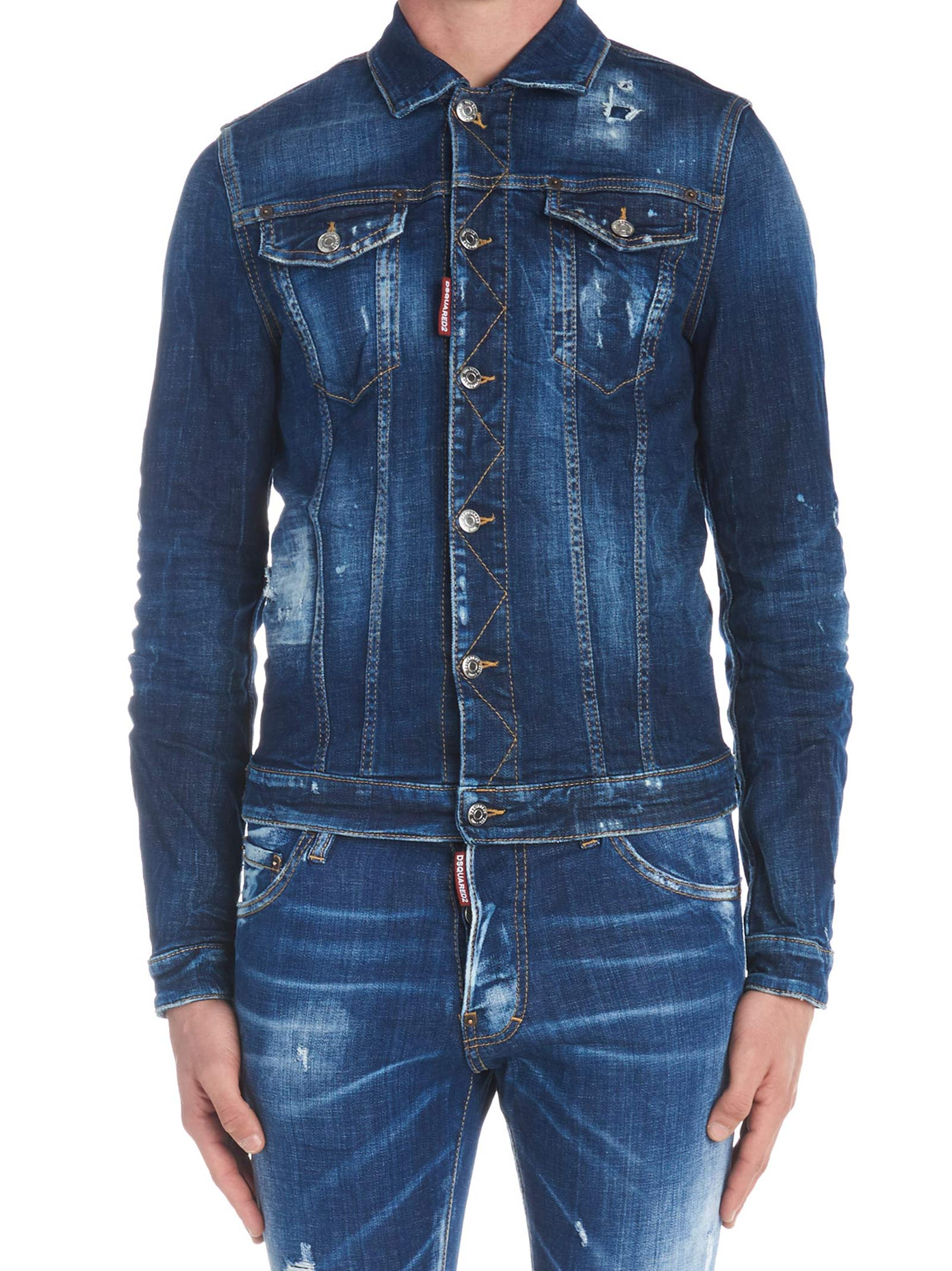 Dsquared2 'classic Jean' Jacket