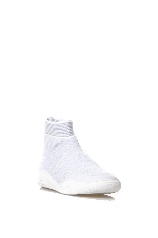Lanvin Grey Cotton Stretch Sneakers