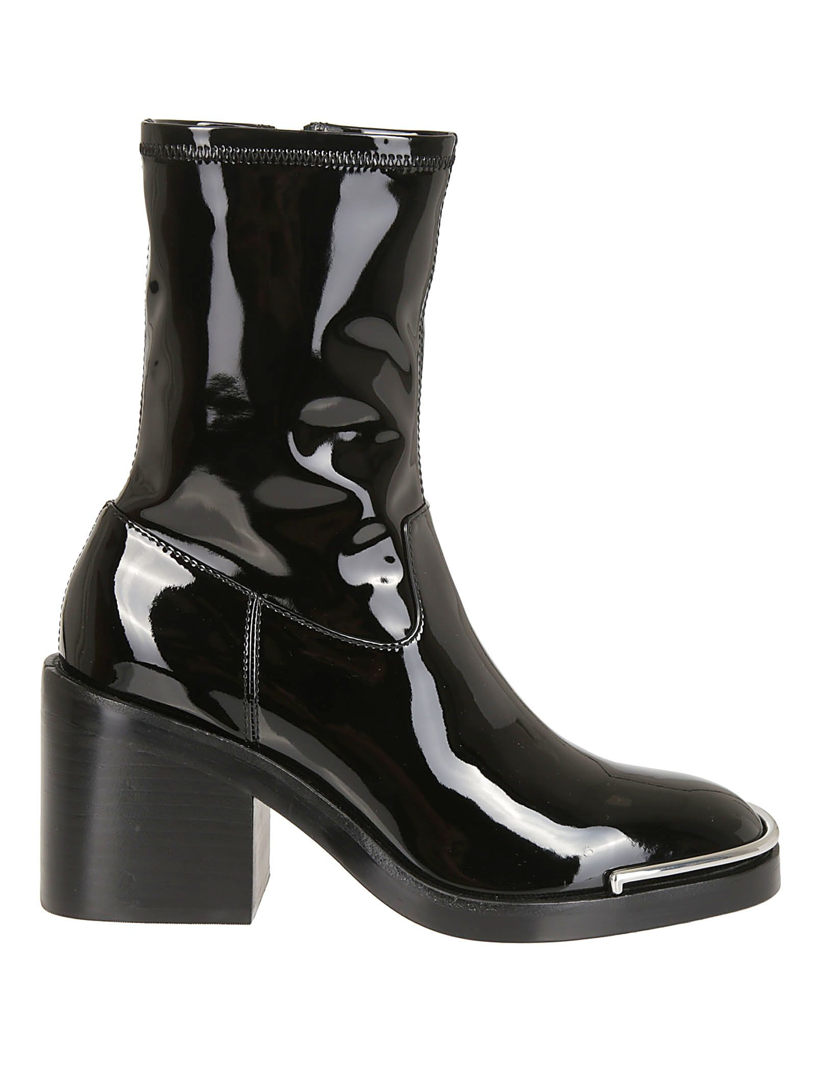 Alexander Wang Side Zipped Ankle Boots
