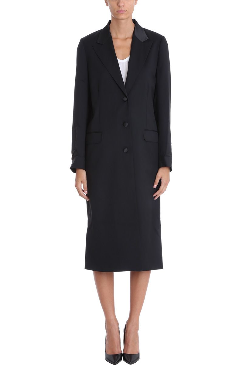 RTA Shawl Collar Oversize Long Coat