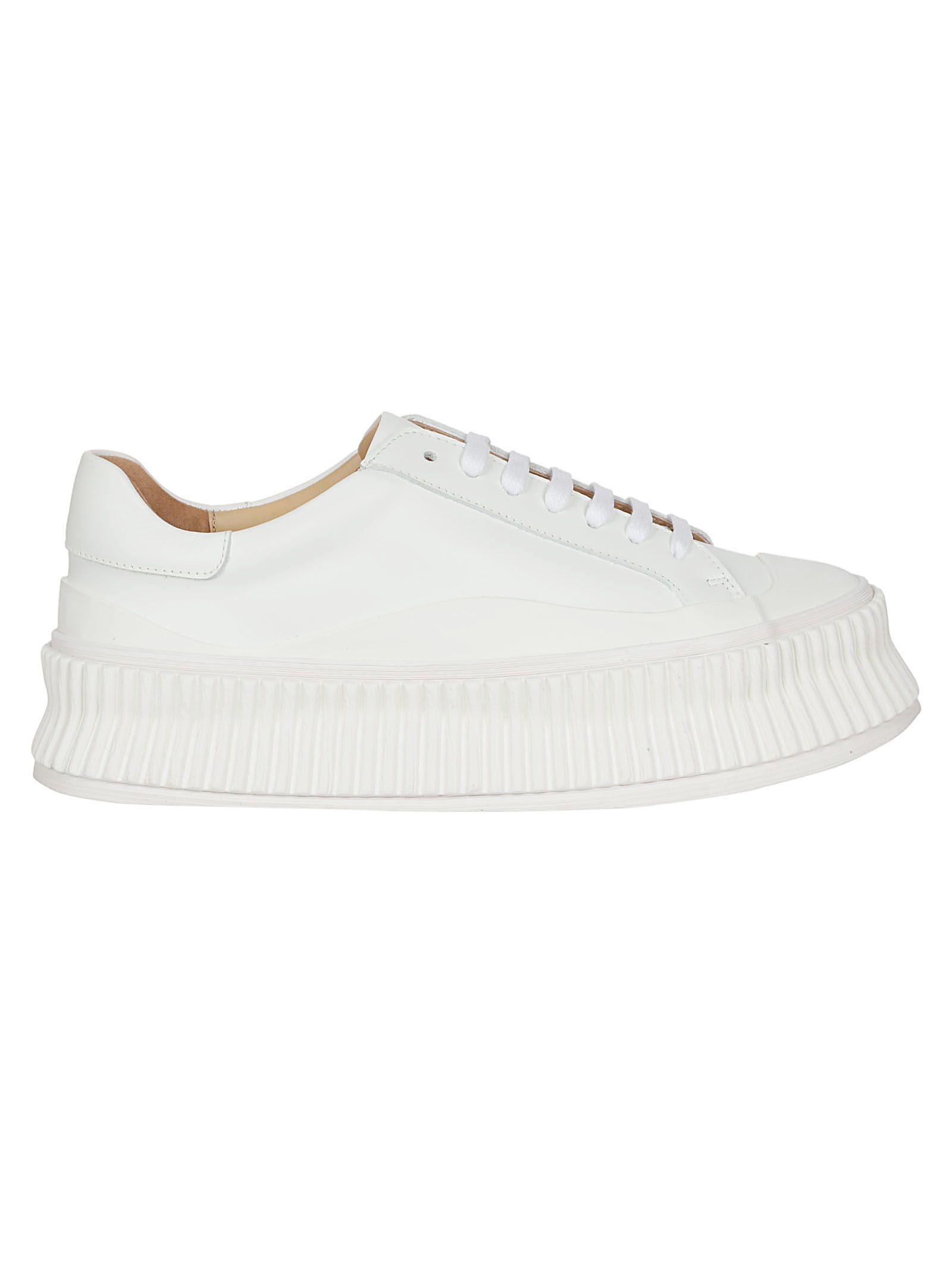 Jil Sander Connors Platform Sneakers