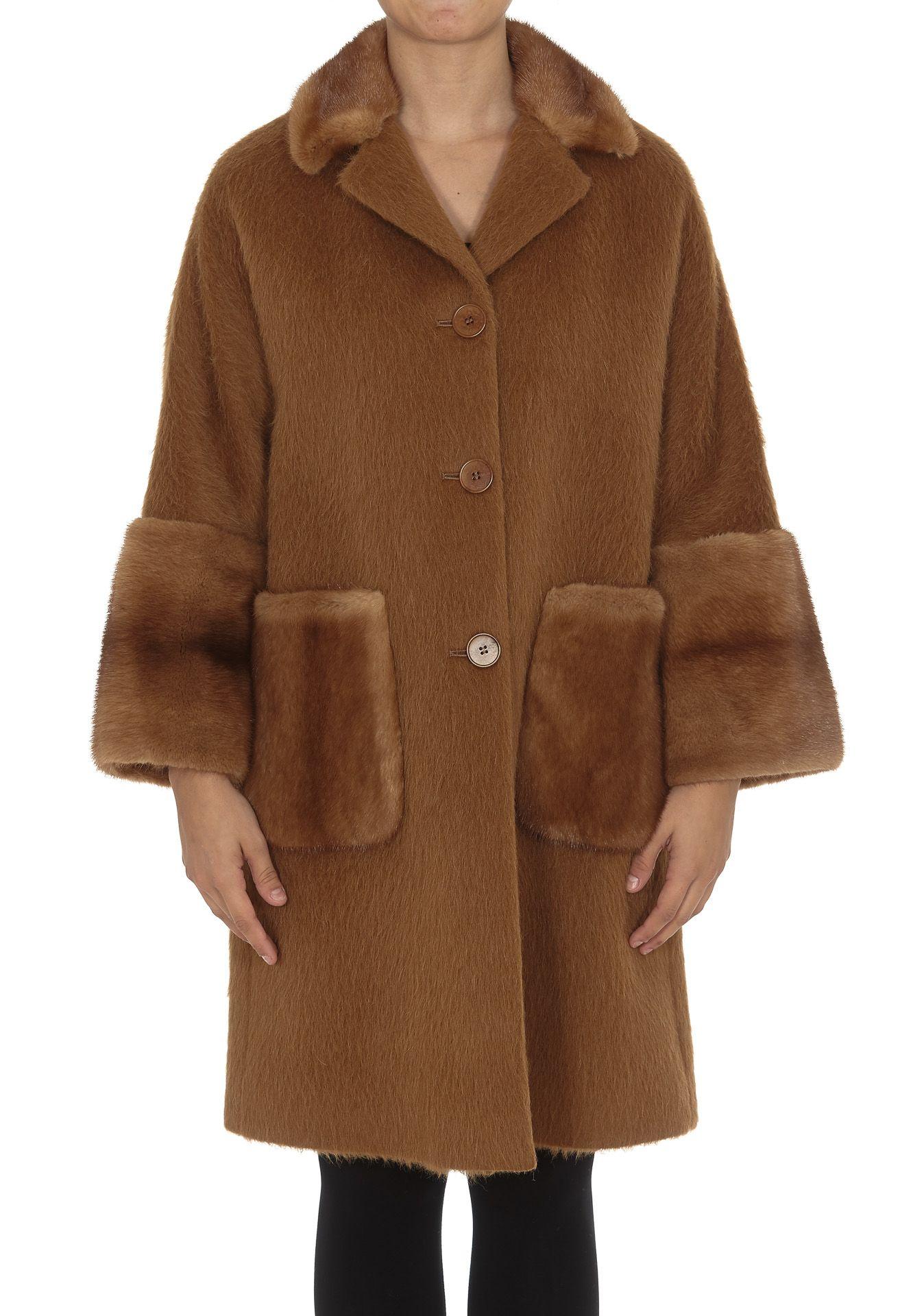 Ida Lou Coat With Fur