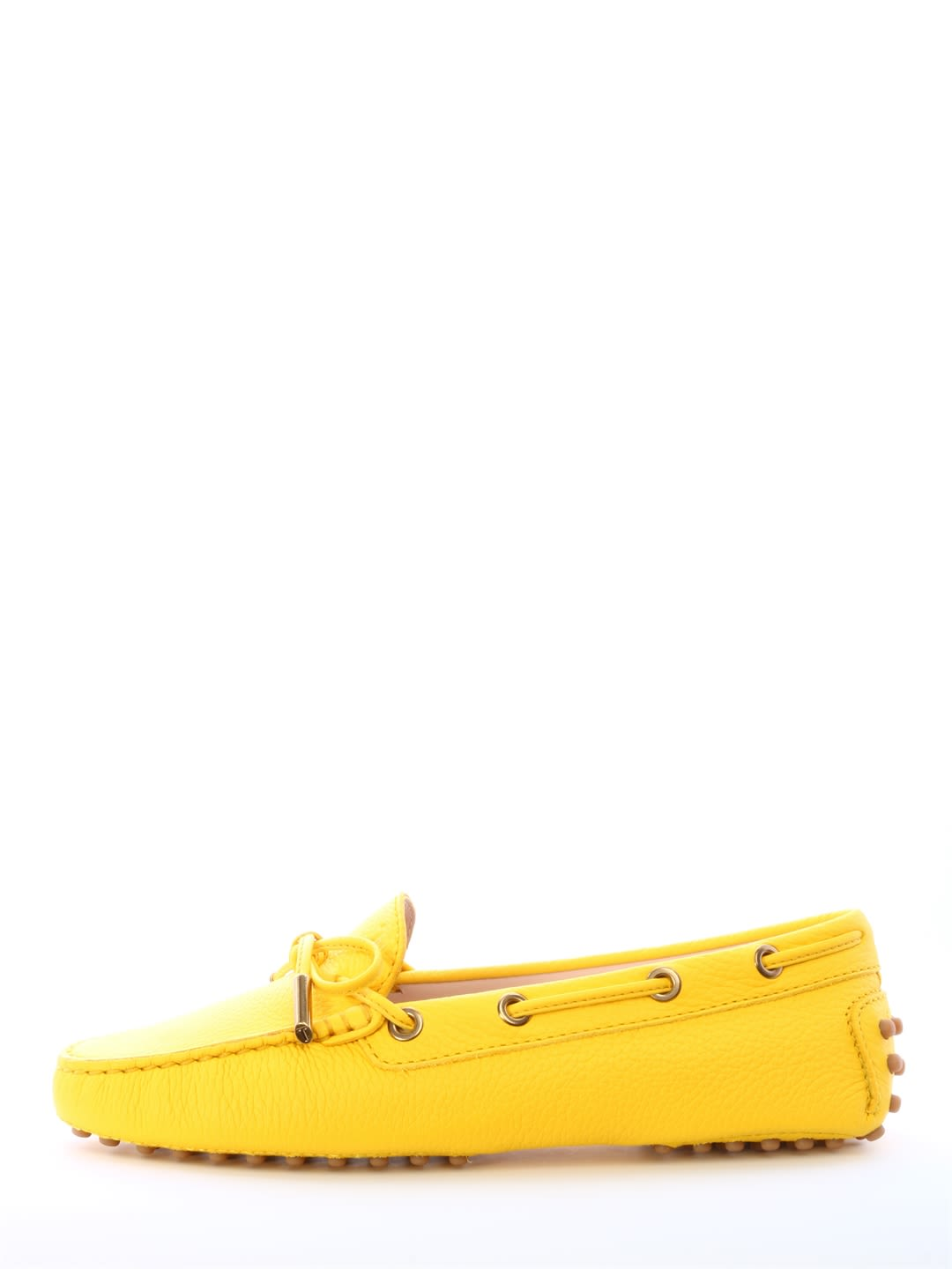 Tod's Mocassin Suede Yellow