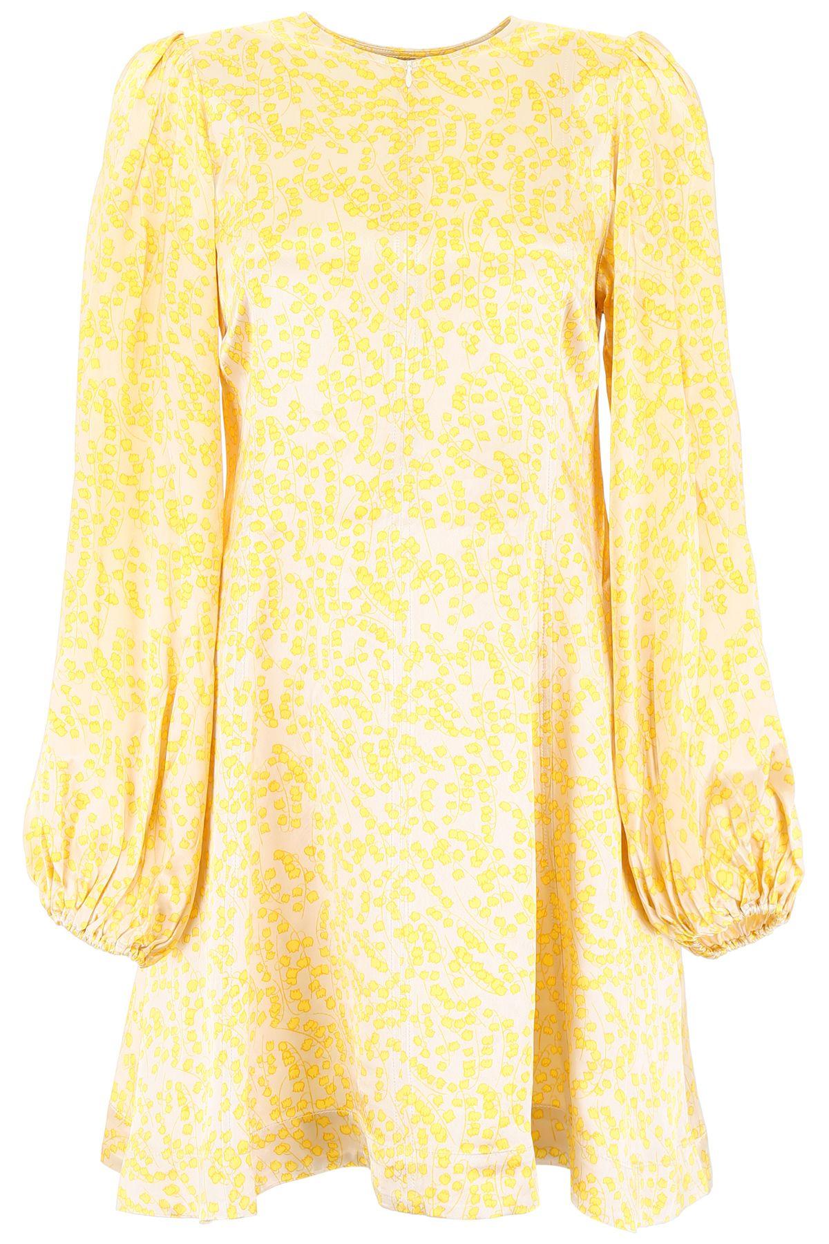 Ganni Mini dresses PRINTED MINI DRESS