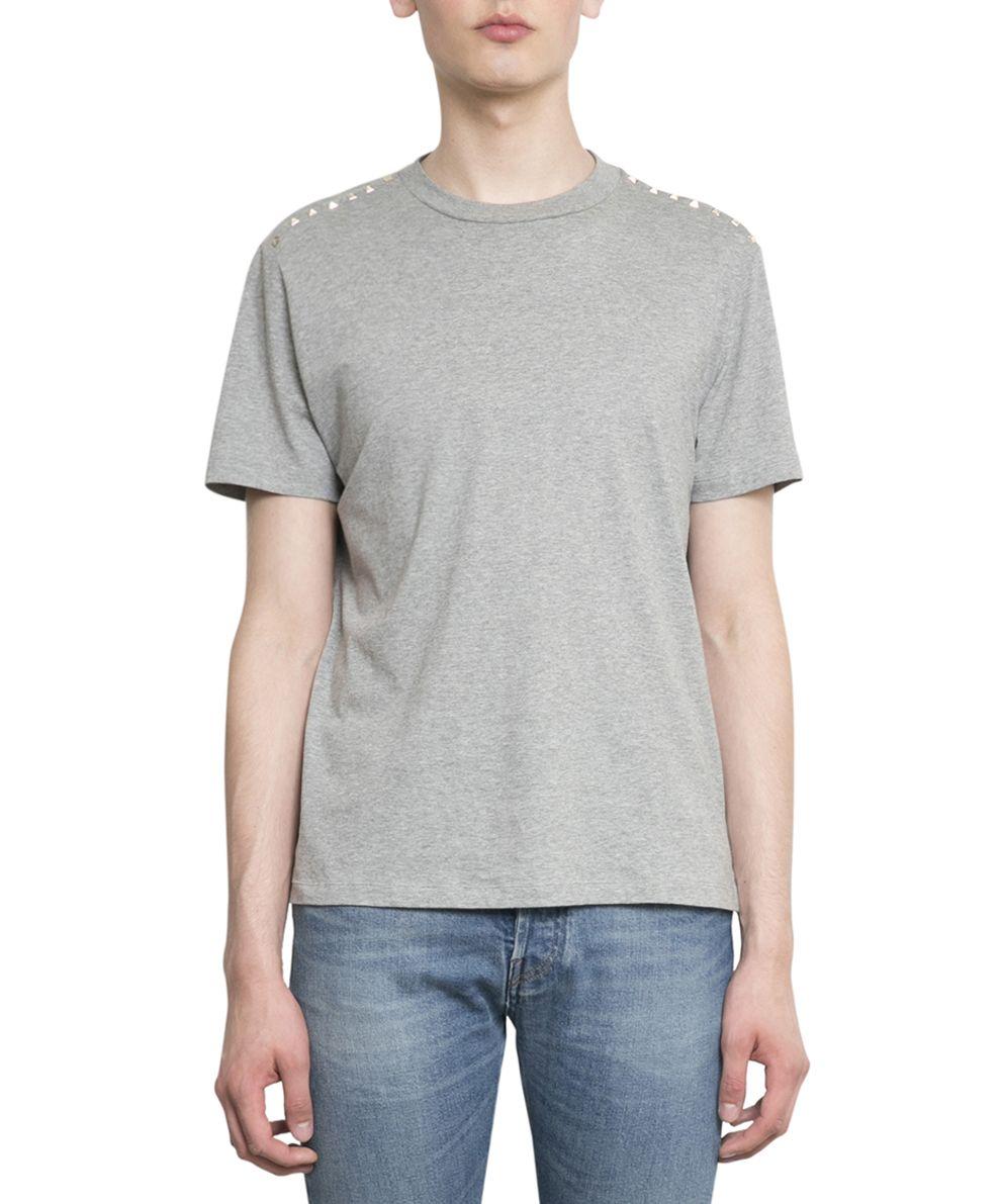 Valentino Rockstud Untitled Cotton T-shirt