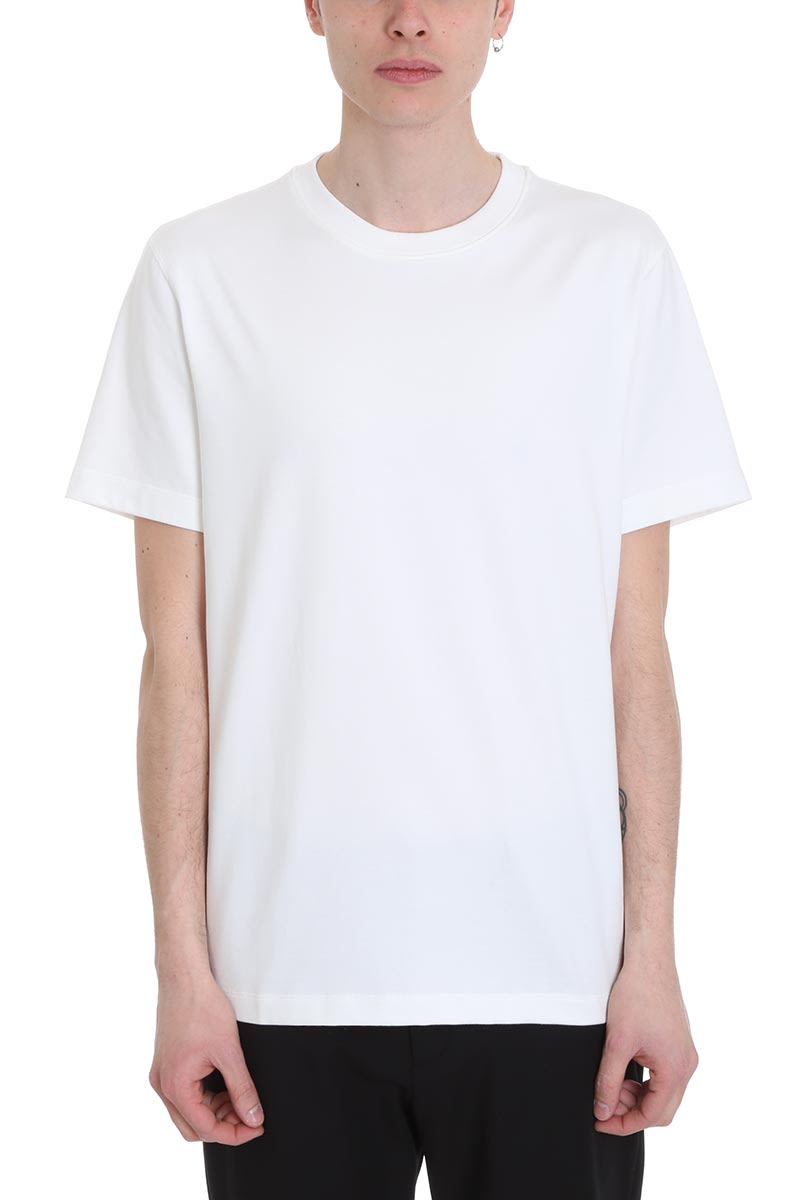 Theory White Cotton T-shirt