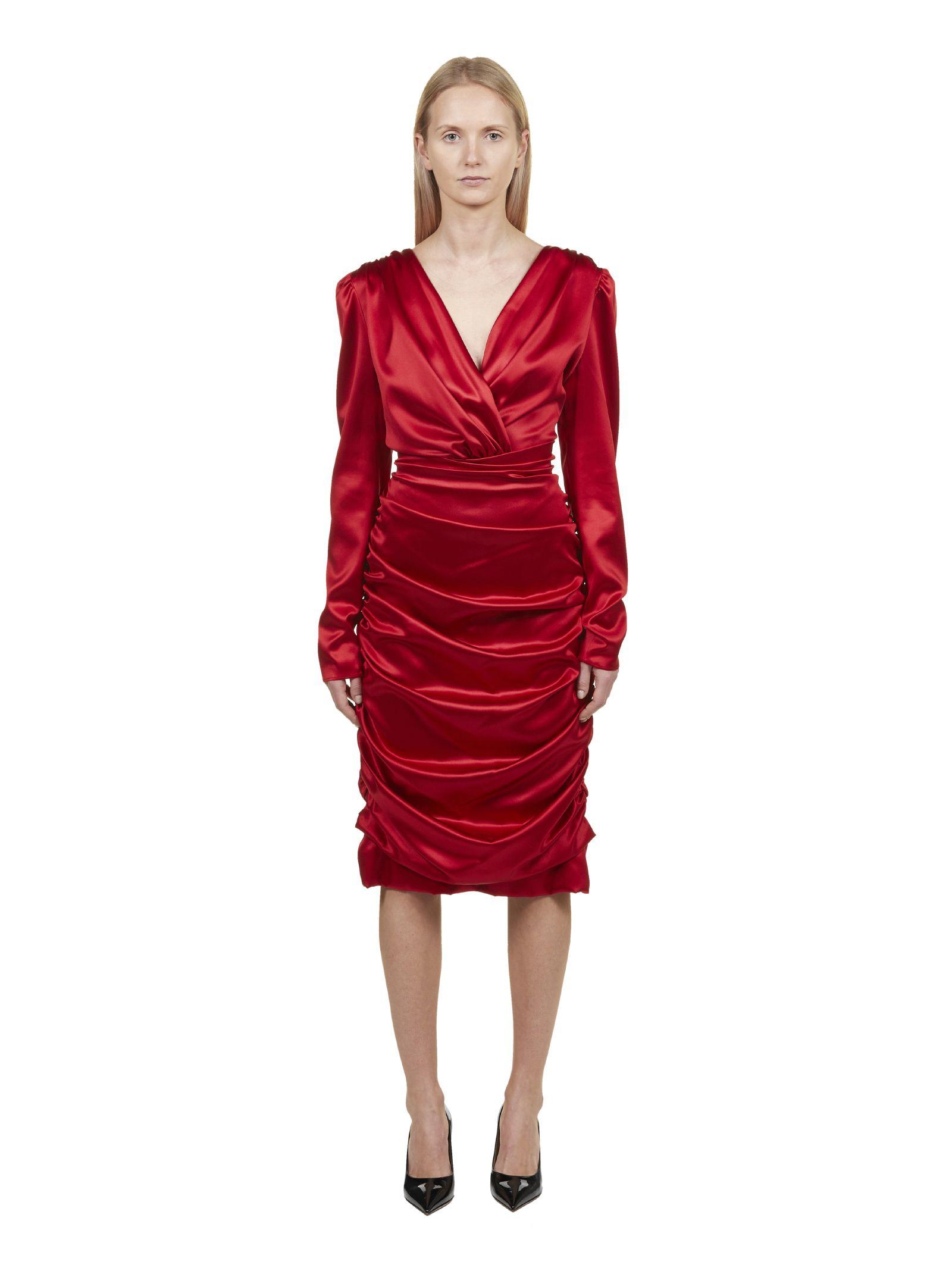 Dolce & Gabbana Gathered Dress