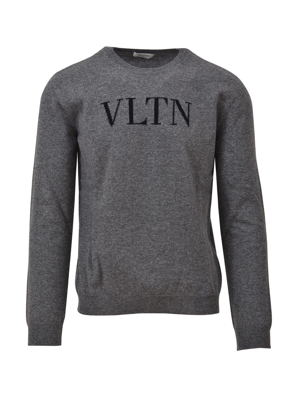 Valentino Grey Vltn Sweater