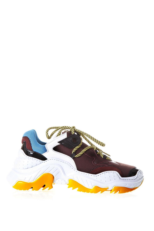 n.21 -  Billy White & Burgundy Sneakers