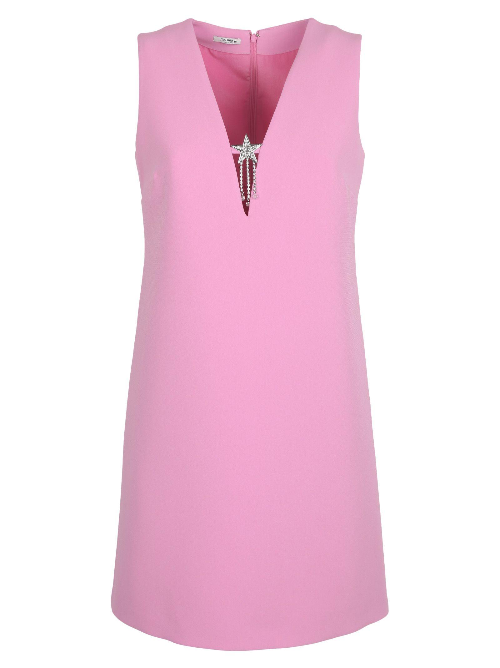 Miumiu V-neck Dress