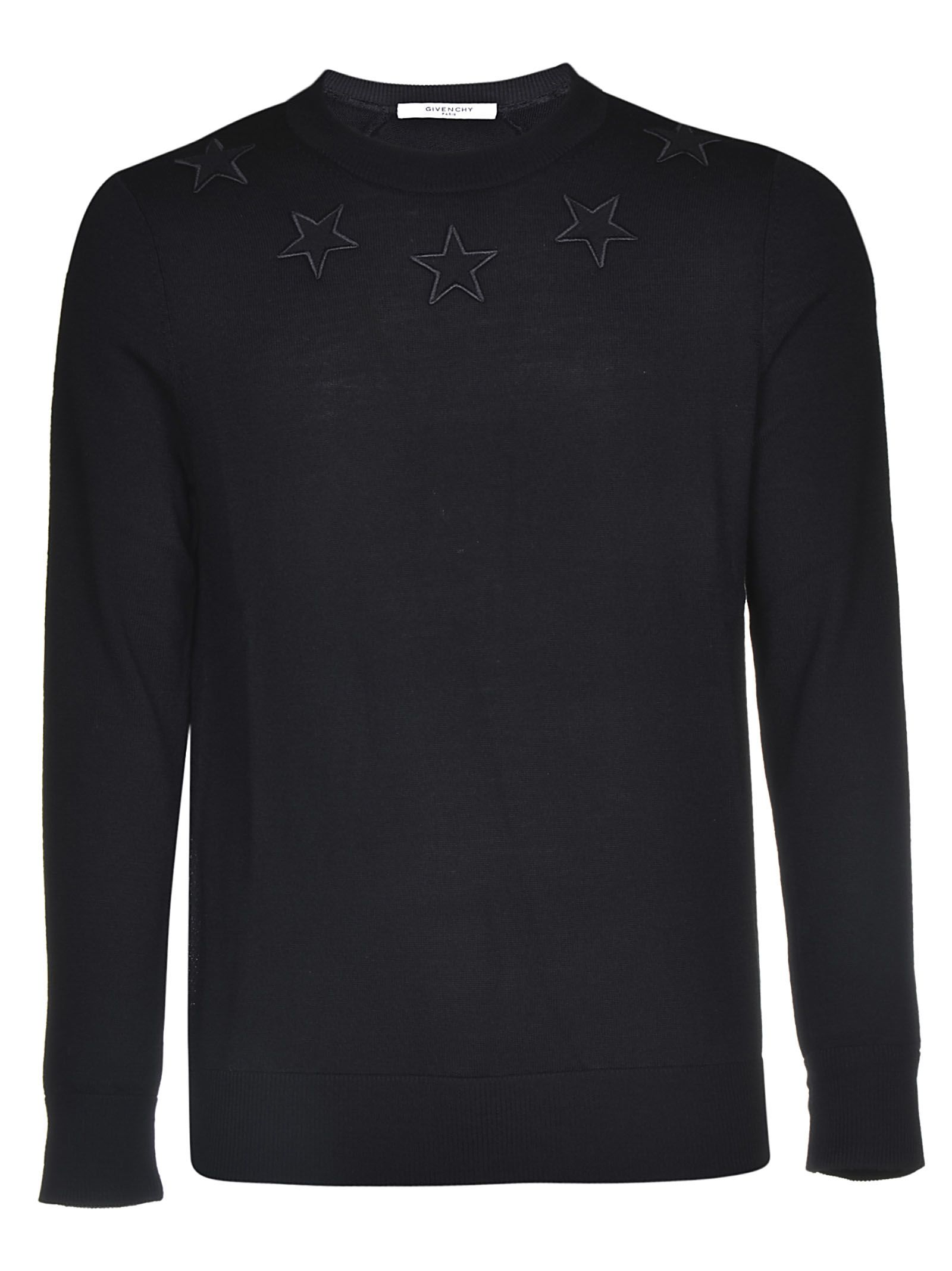 Givenchy Star Embroidery Sweatshirt