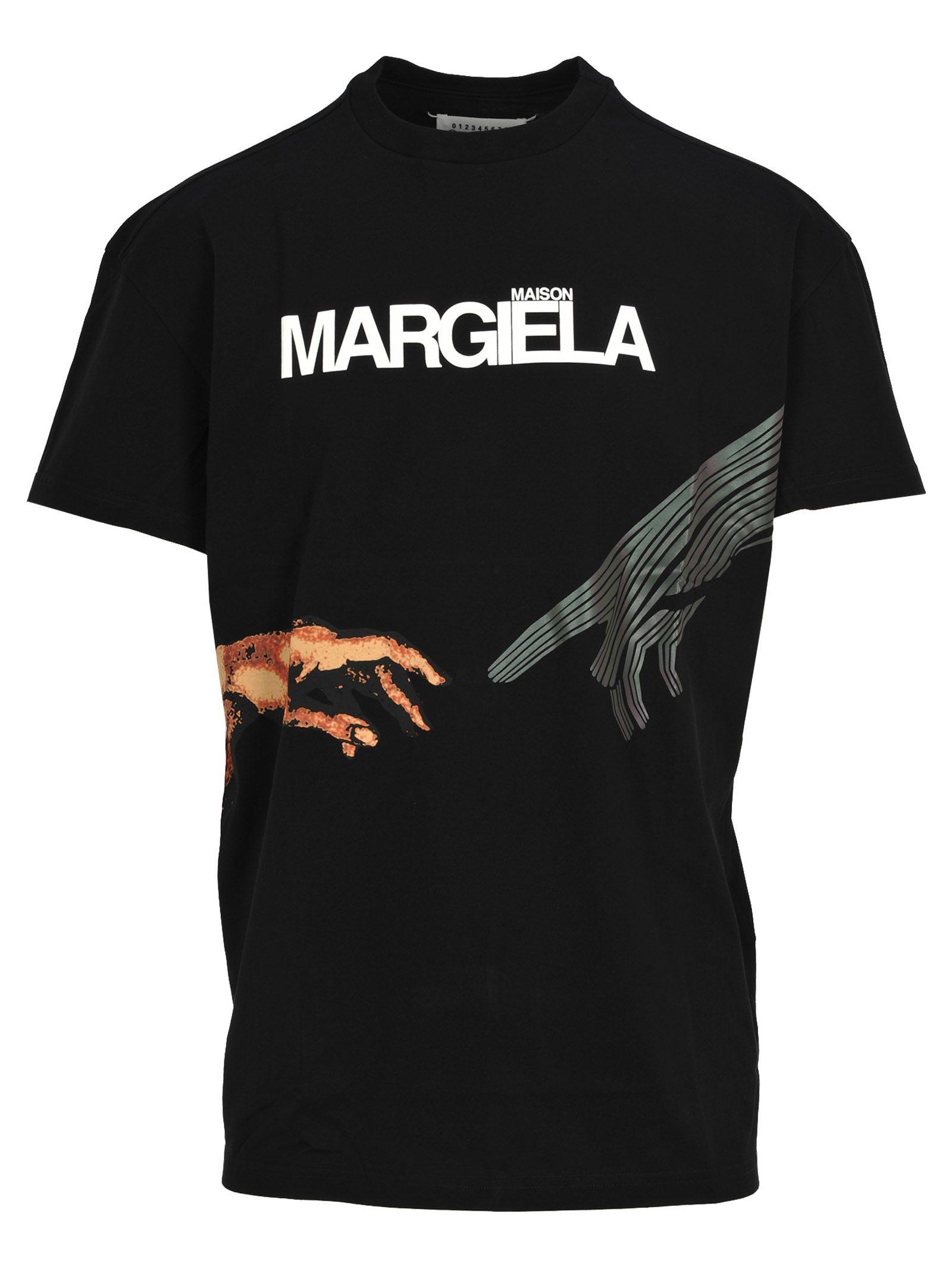 Martin Margiela Tshirt Hands Reflective