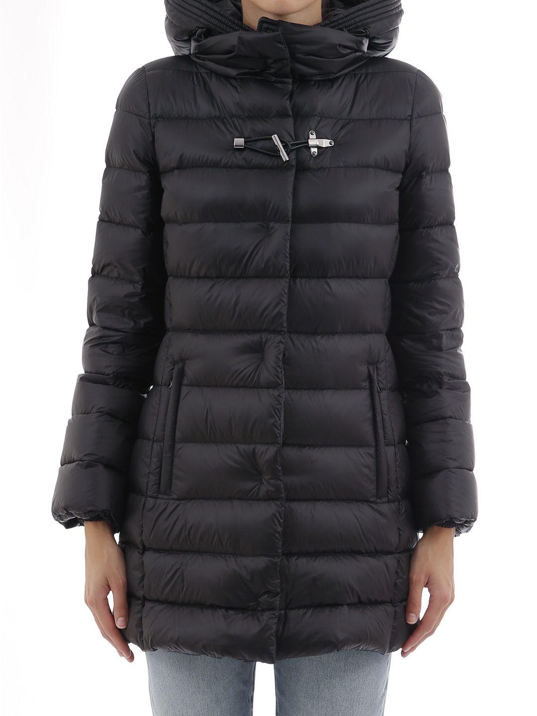 Fay Black Down Jacket
