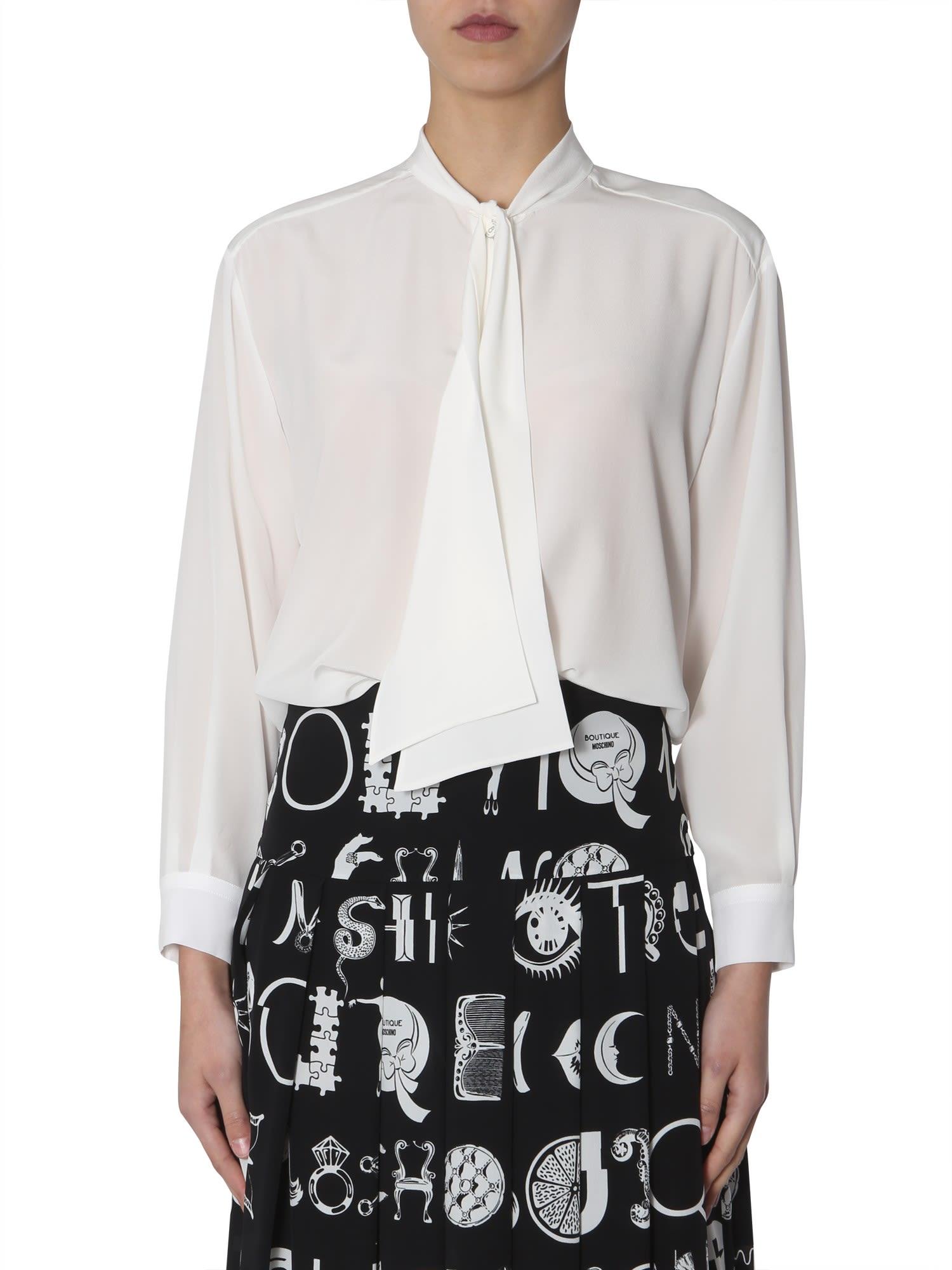 Boutique Moschino Silk Shirt