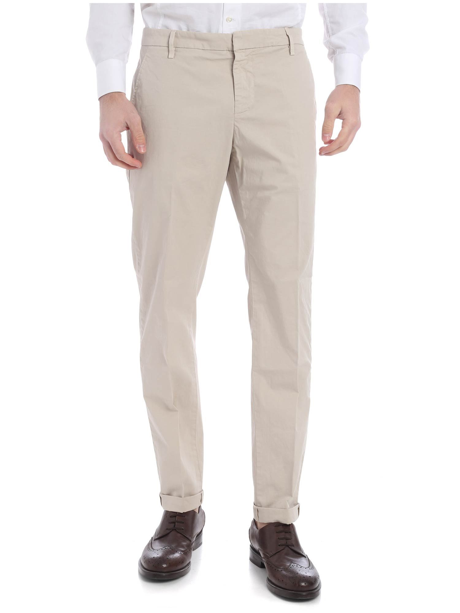 Dondup Gaubert Stretch Cotton Trousers