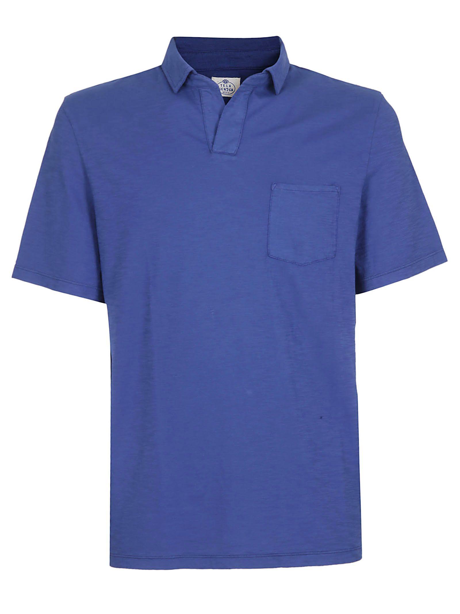 Tela Genova Johnny Collar Polo Shirt