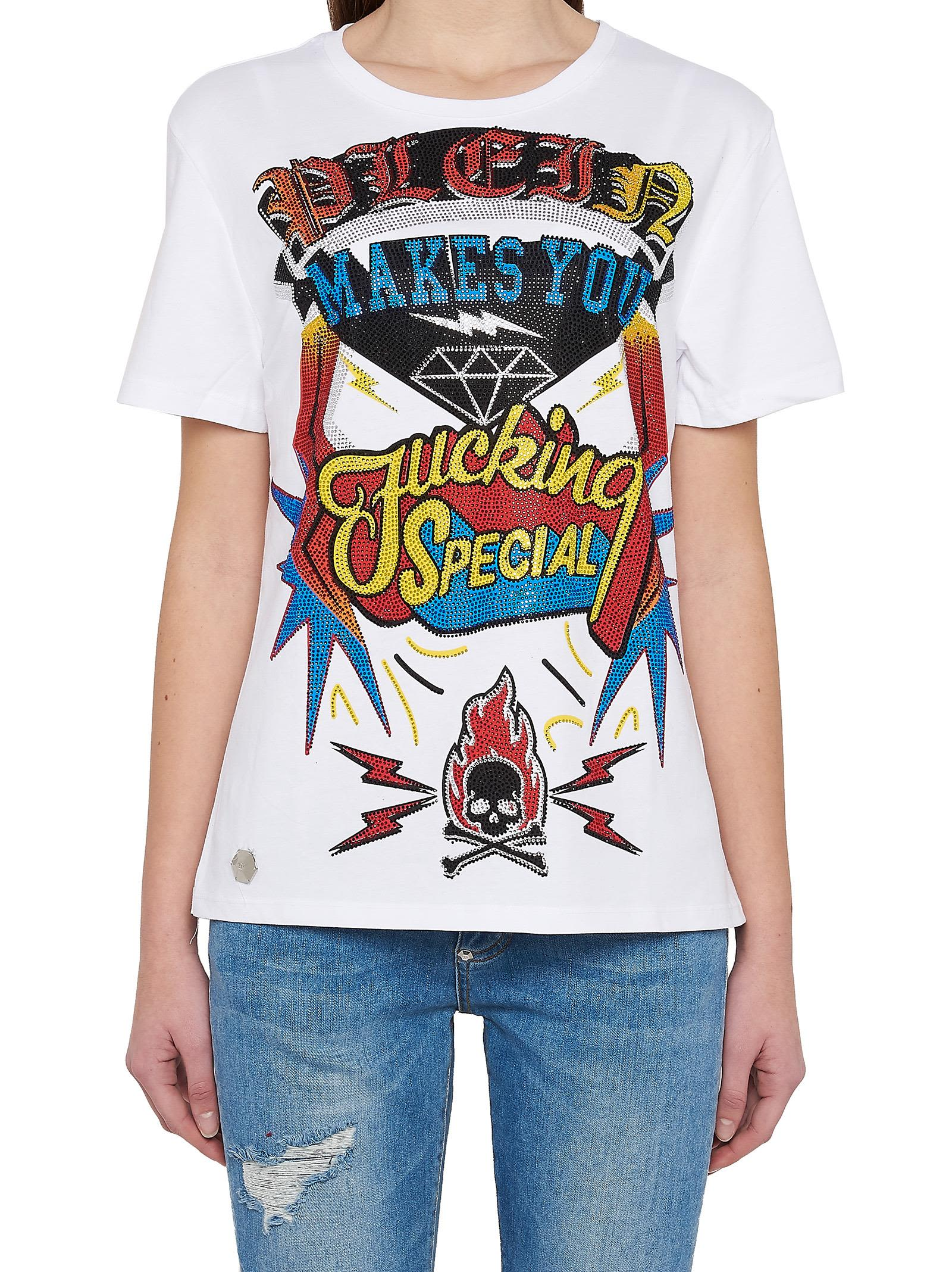 Philipp Plein Makes You Fucking Special T-shirt
