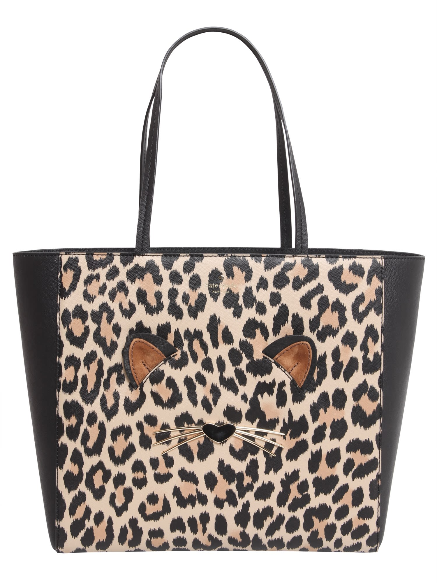 Kate Spade Hallie Leopard Shopping Bag