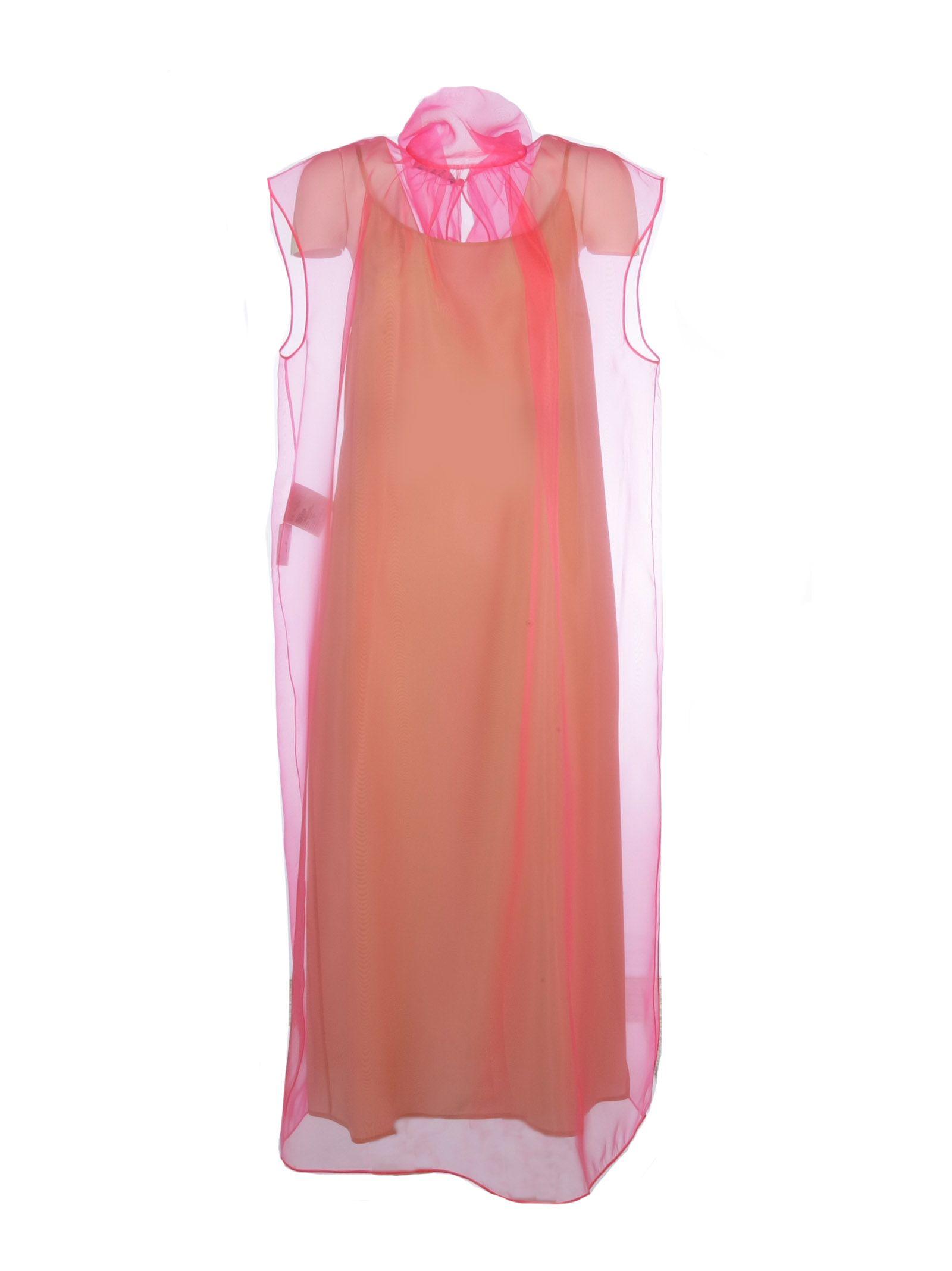 prada -  Technical Oraganza Midi Dress