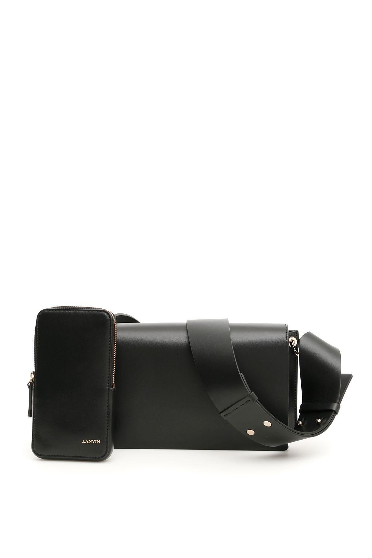 Lanvin Leather Pixel-it Bag