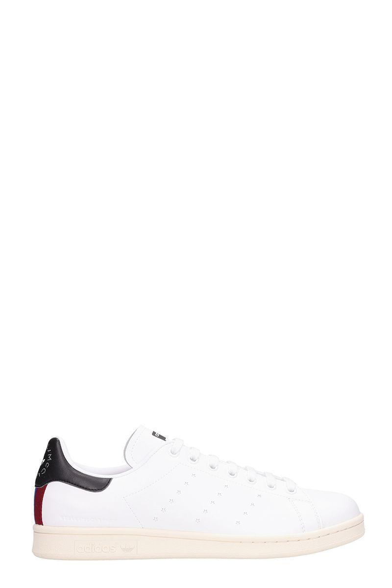 Adidas Originals Stan Smith White Leather Sneakers