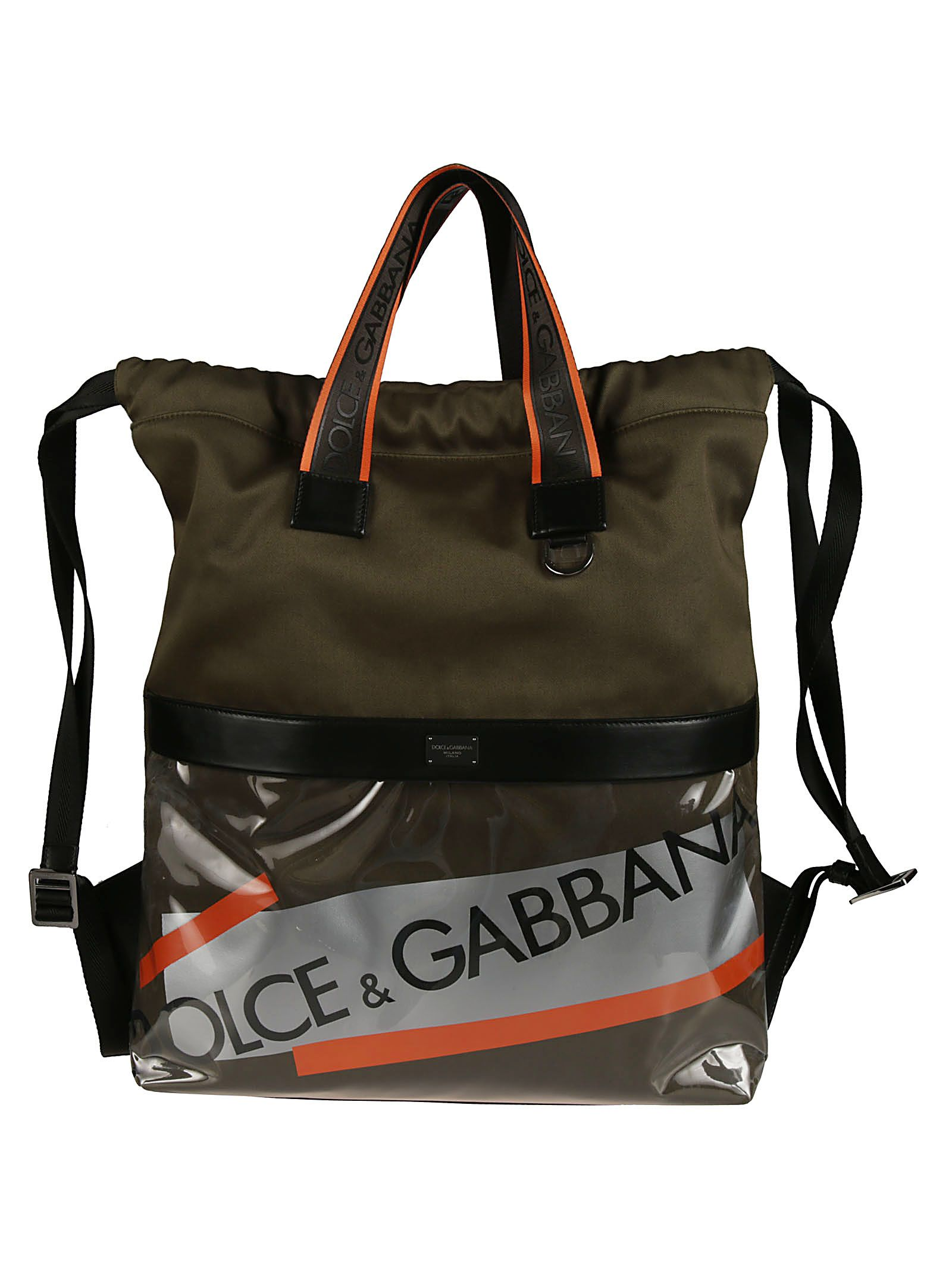 Dolce & Gabbana Street Logo Tape Backpack