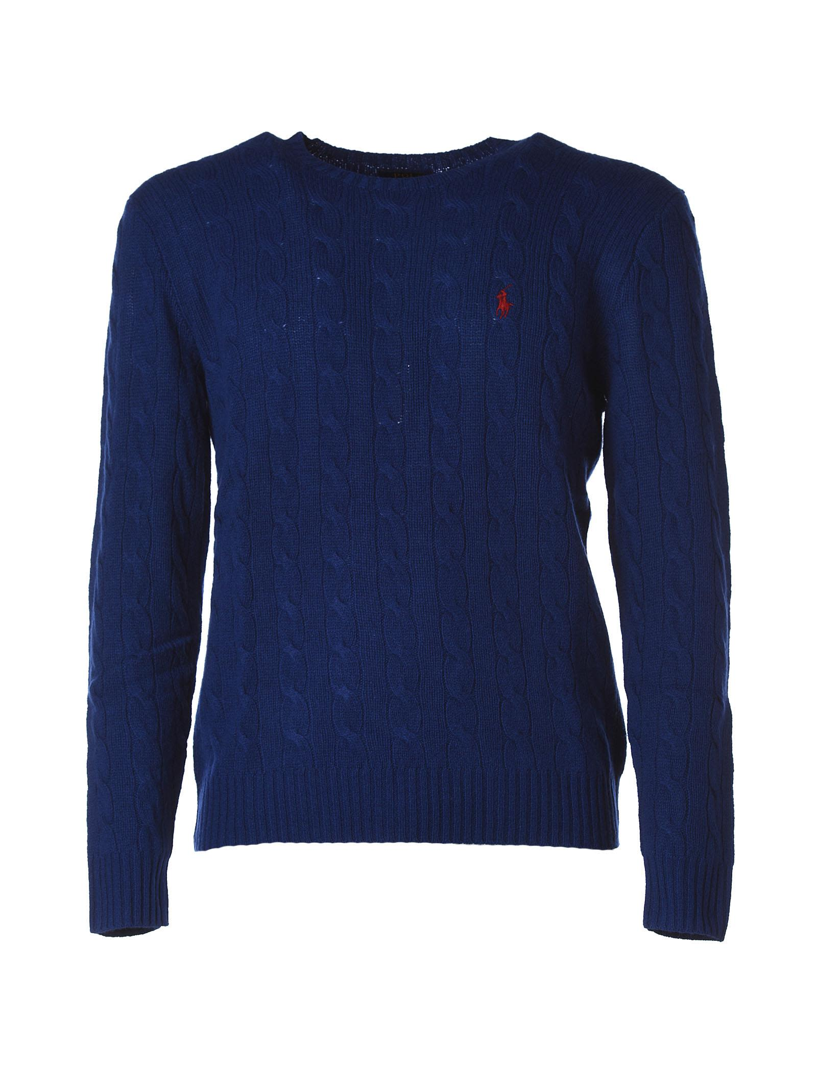 Polo Ralph Lauren Royal Blue Round Neck Sweater