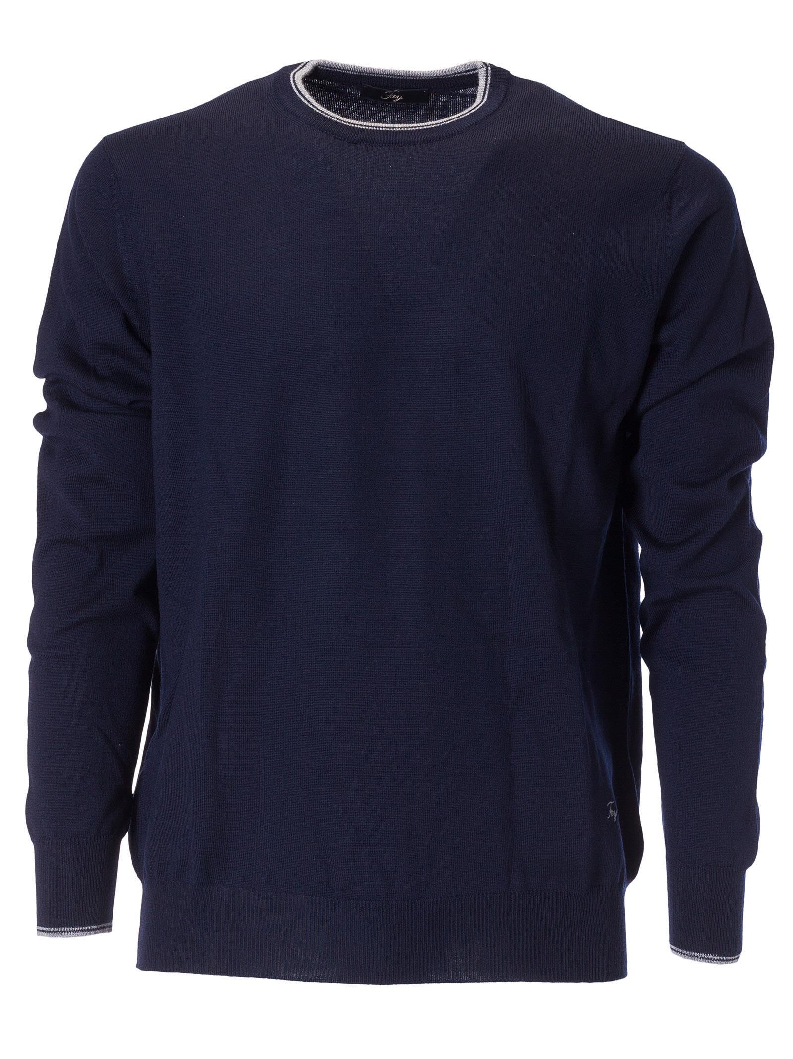 Fay Crew Neck Sweater