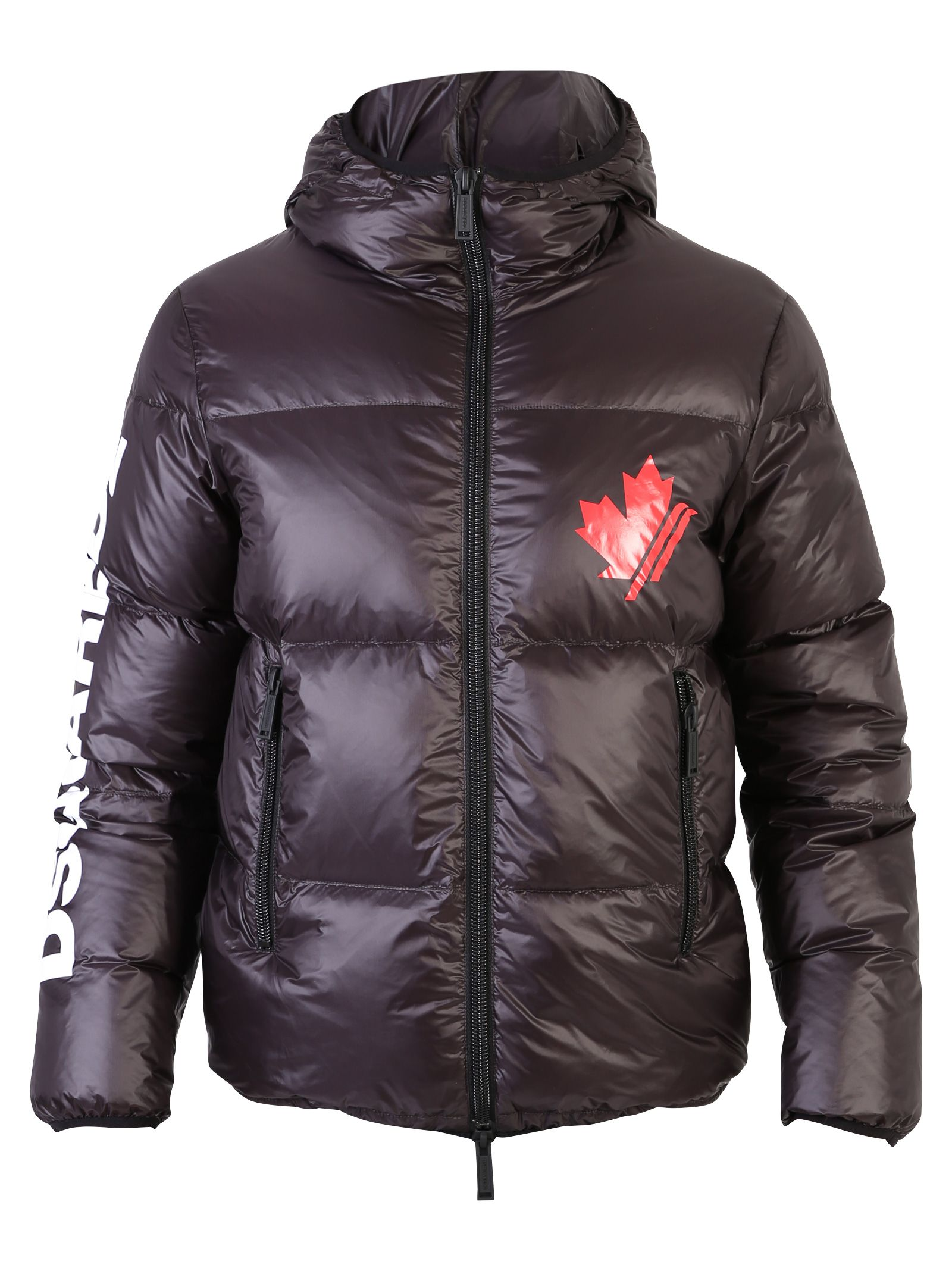 Dsquared2 Black Branded Padded Jacket