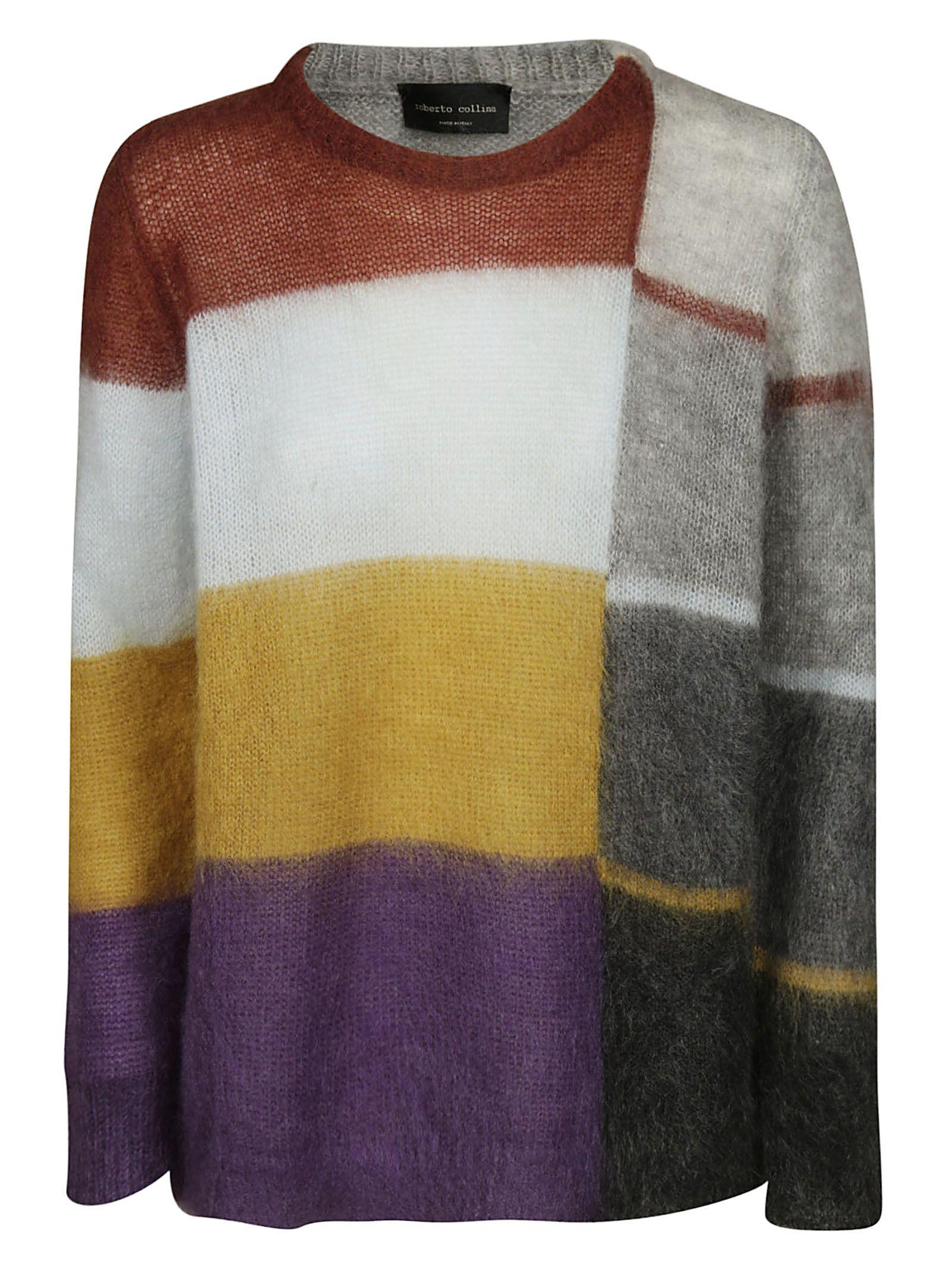 Roberto Collina Striped Pattern Sweater