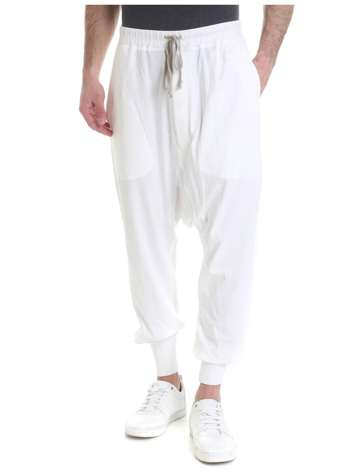 DRKSHDW Drop Crotch Cotton Pants