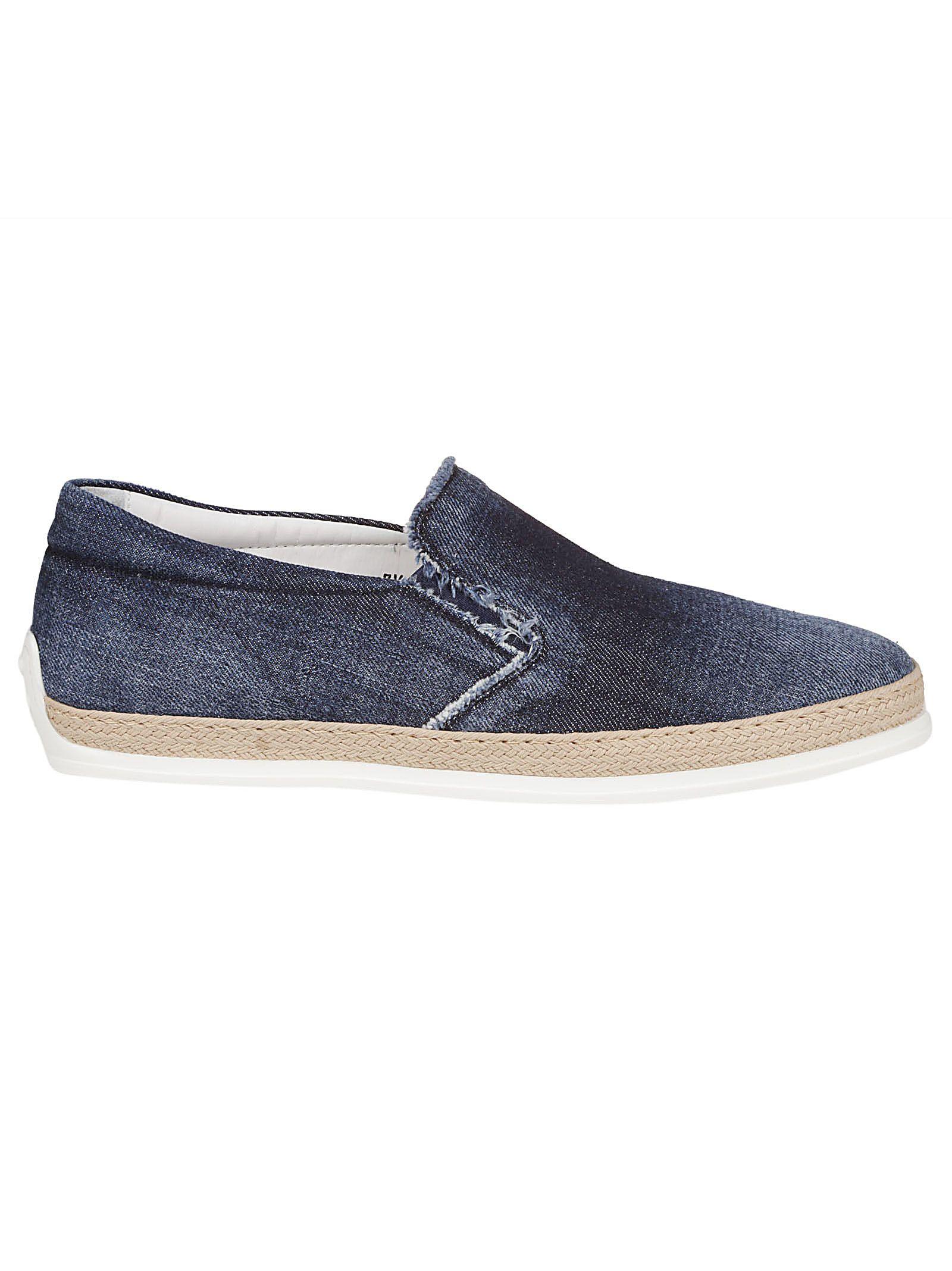 Tod's Denim Sneakers
