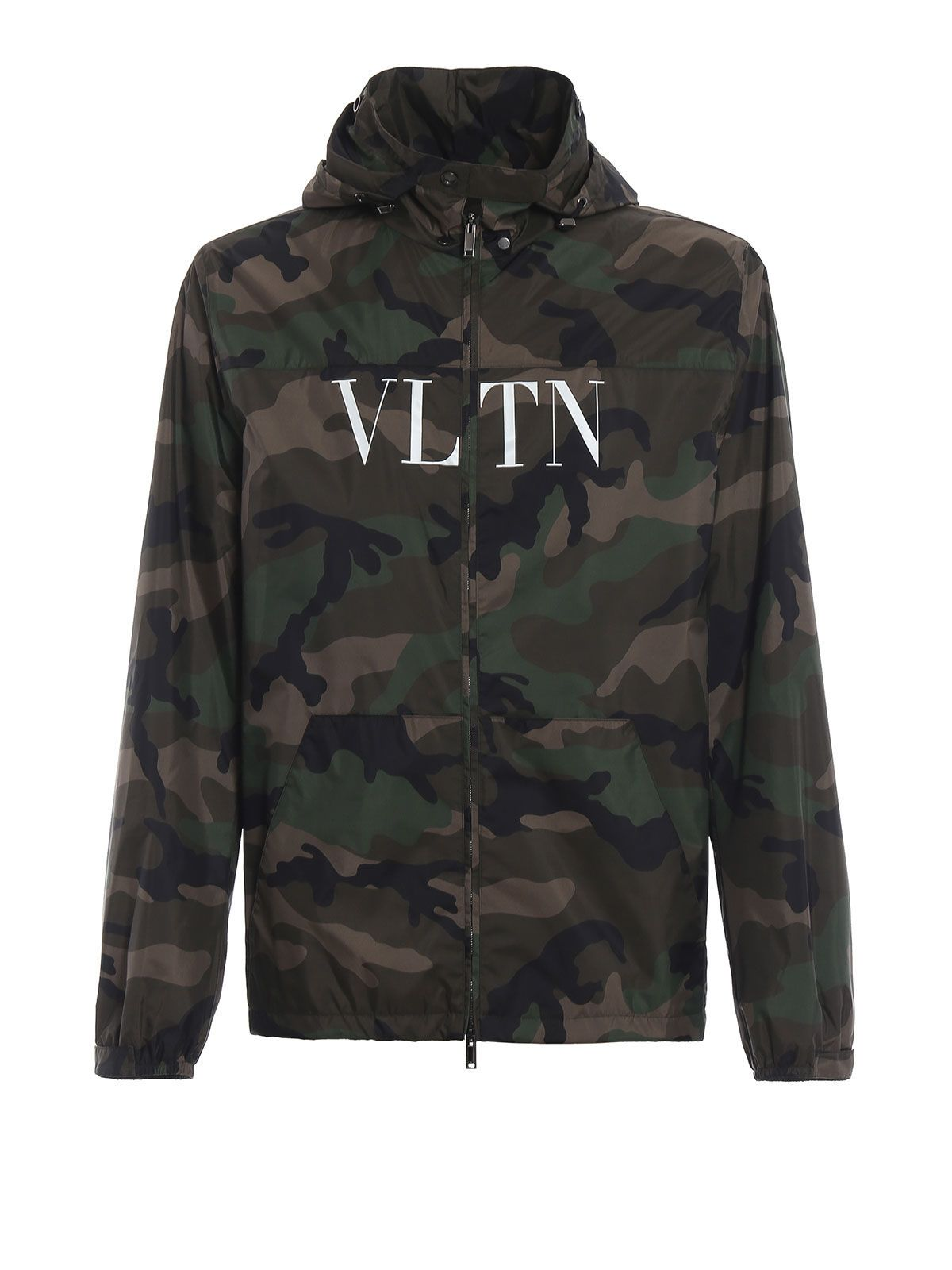 09b532bb9 Valentino Vltn Printed Jacket In Fcamou Army | ModeSens