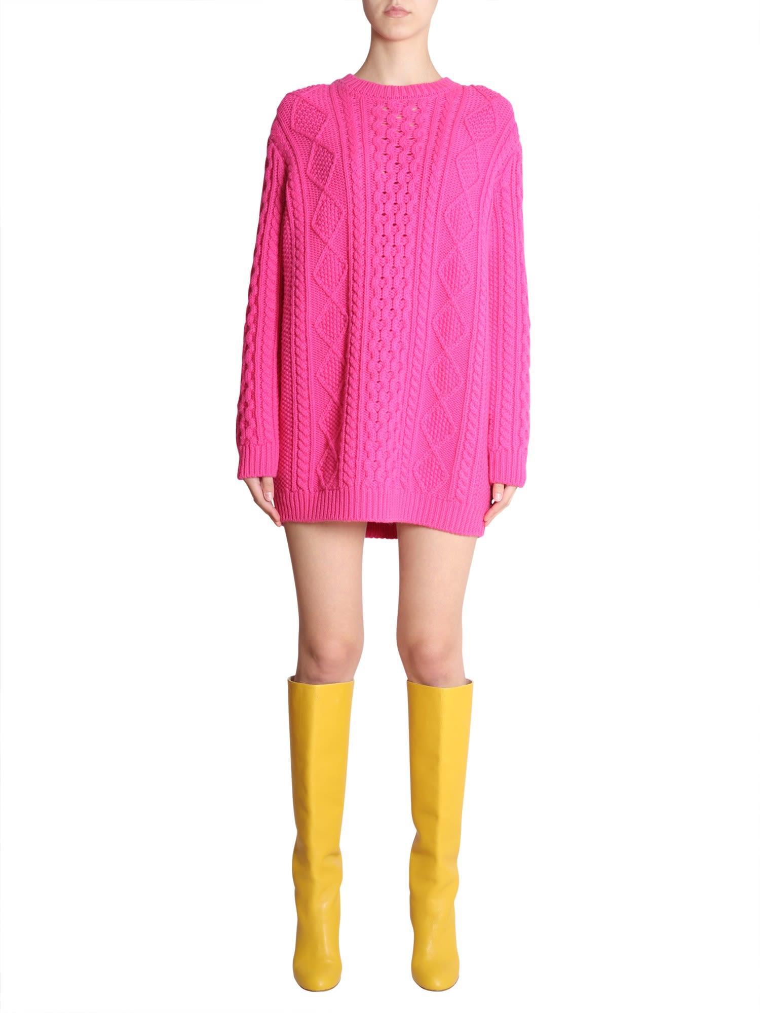 RED Valentino Mini Crochet Dress