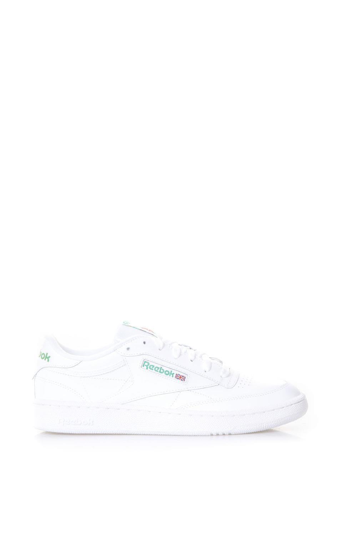 reebok -  Club C 85 White Leather Sneakers