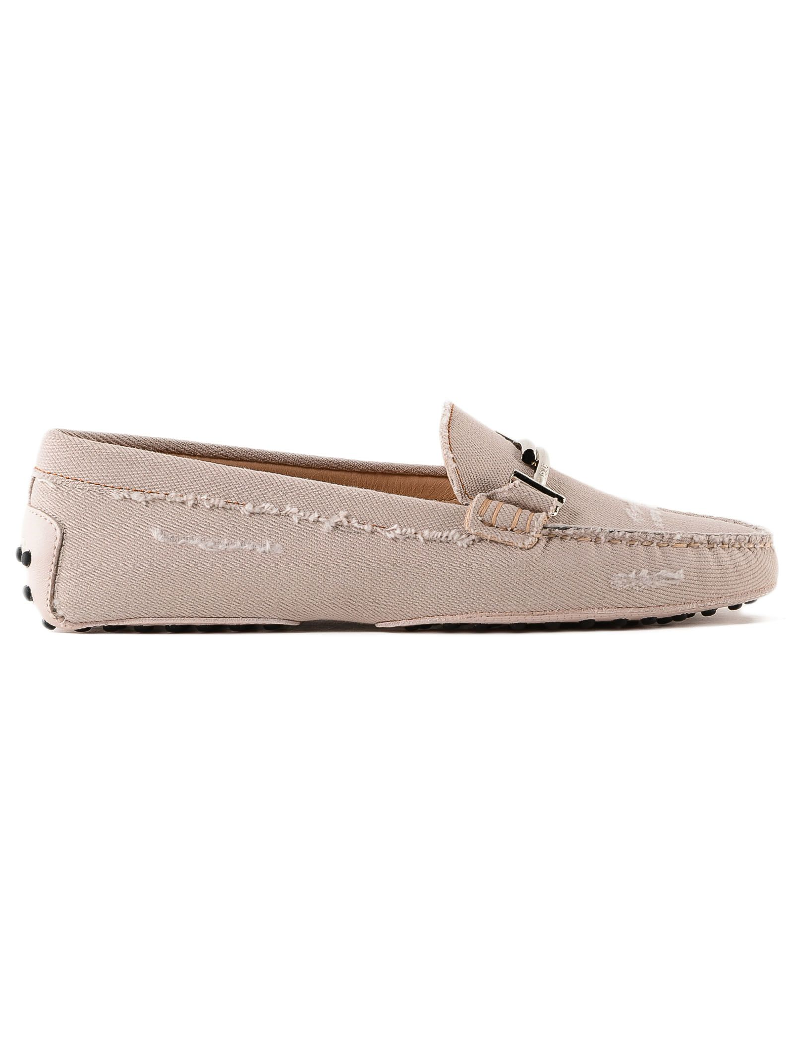 Tod`s Gommini Jeans Driving Shoes