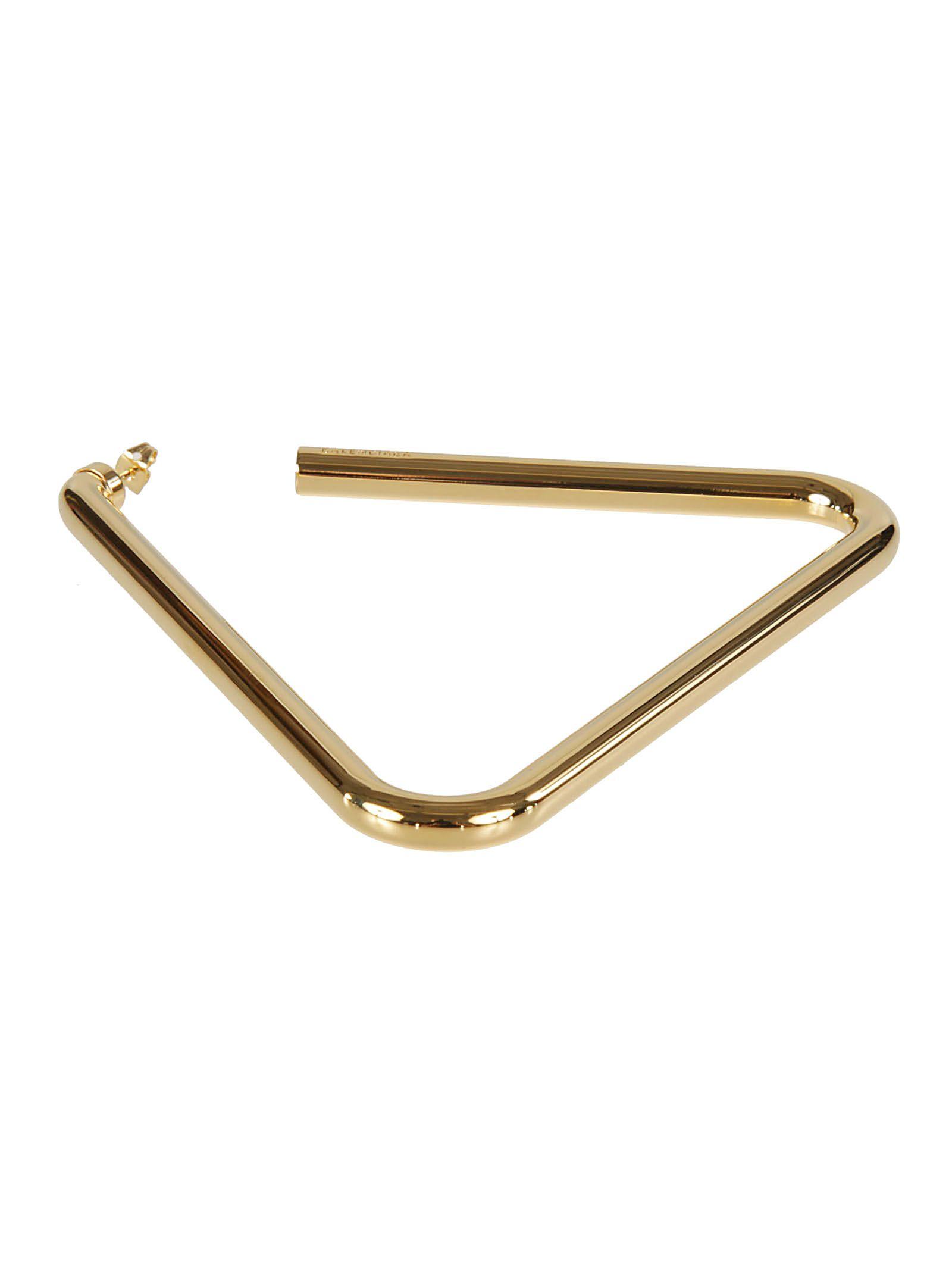 Balenciaga Triangle Earrings