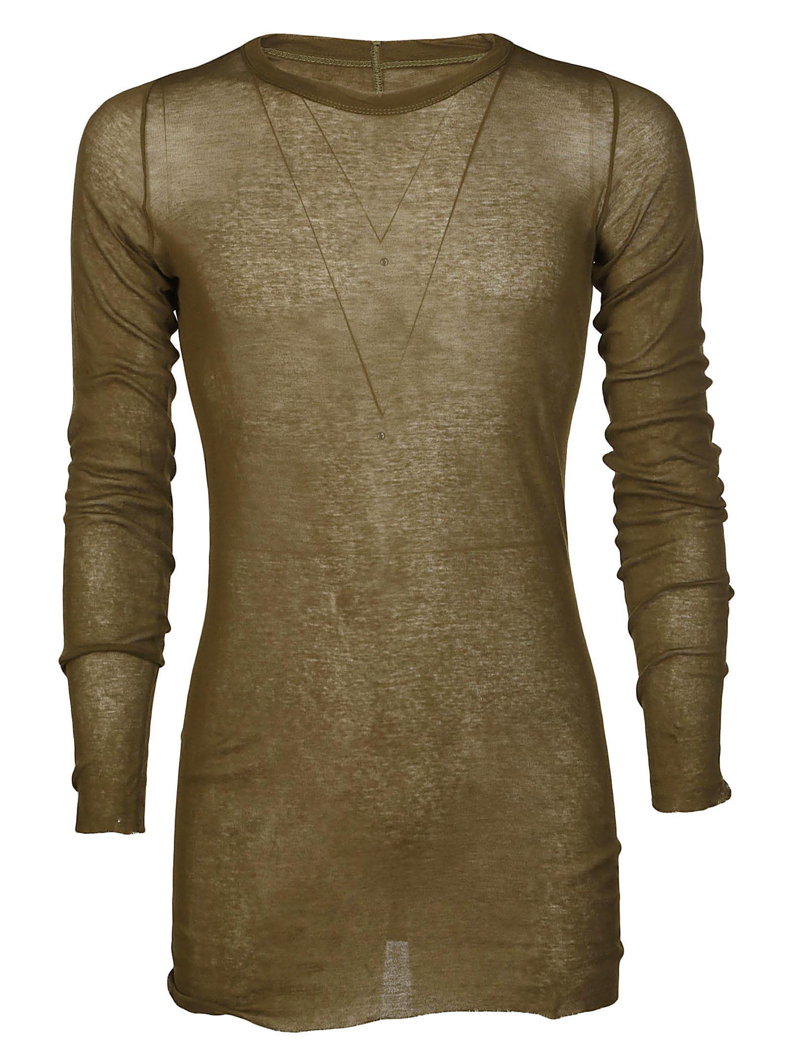 Rick Owens Long Sleeve Rib T-shirt