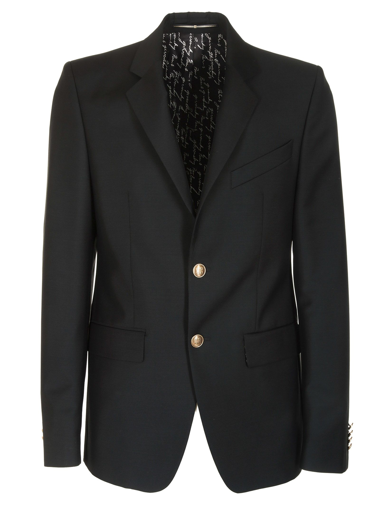Givenchy Single Breasted Blazer