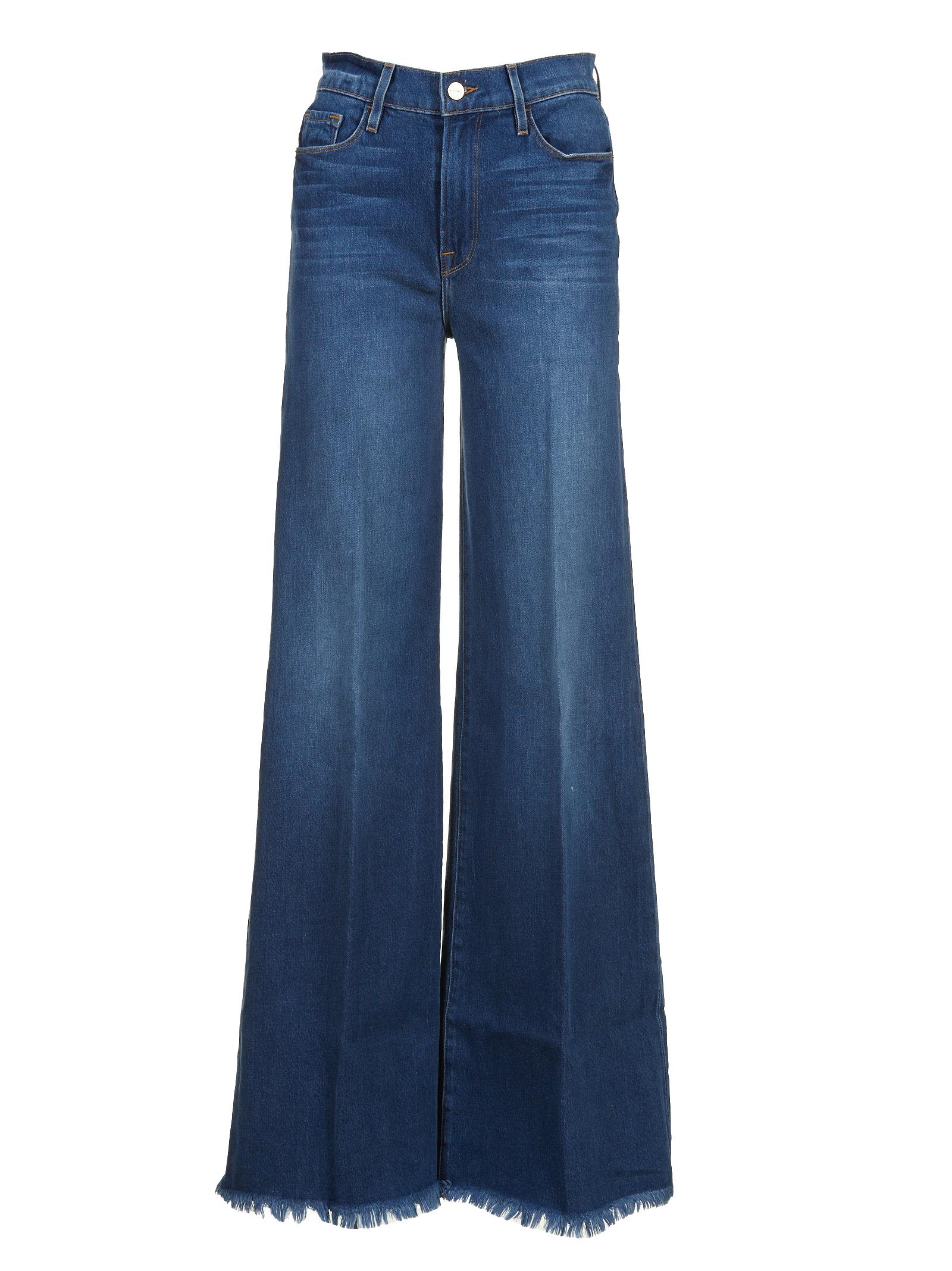 frame -  Denim Wide Leg Jeans