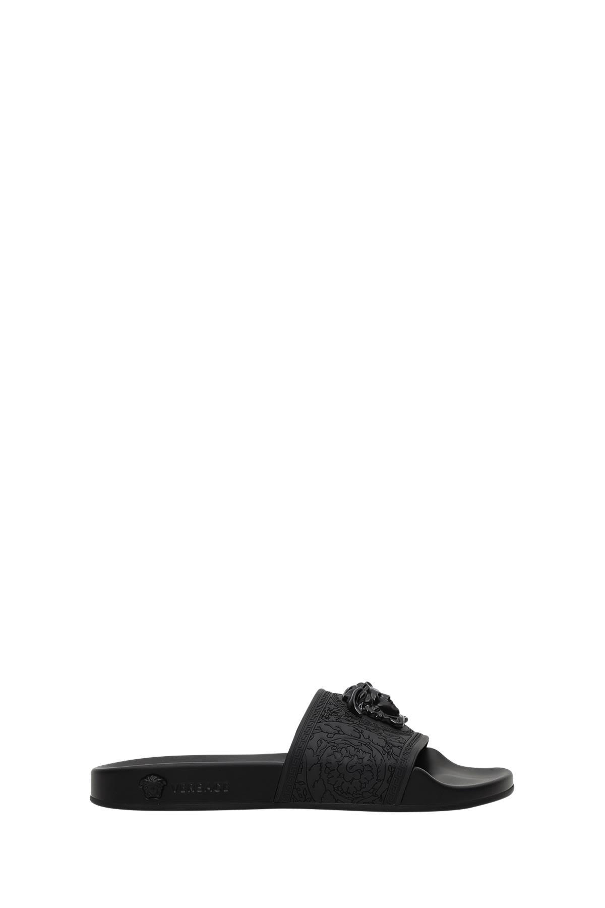 Versace Medusa Head Slide Sandals