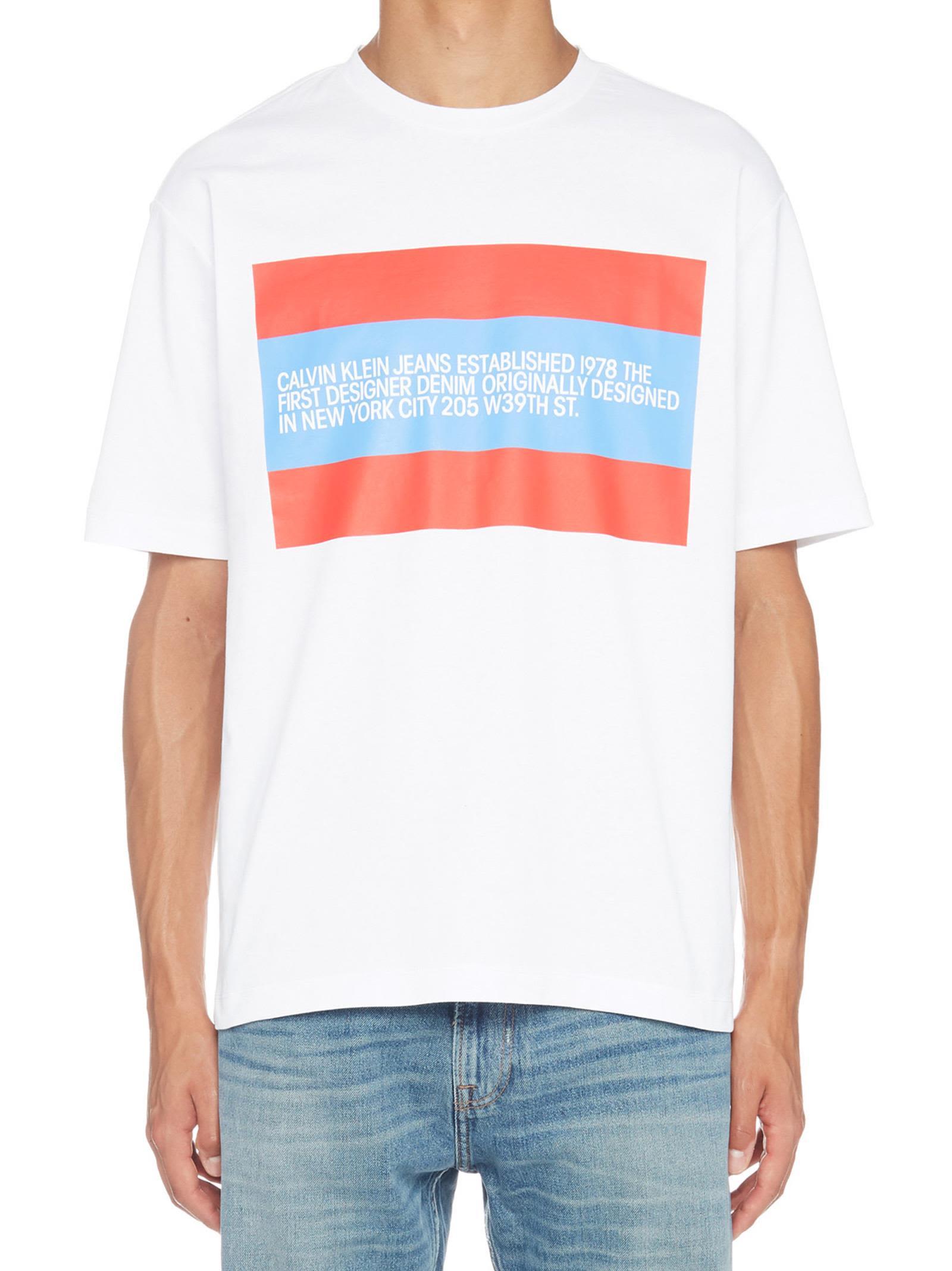 Calvin Klein 'est 1978' T-shirt