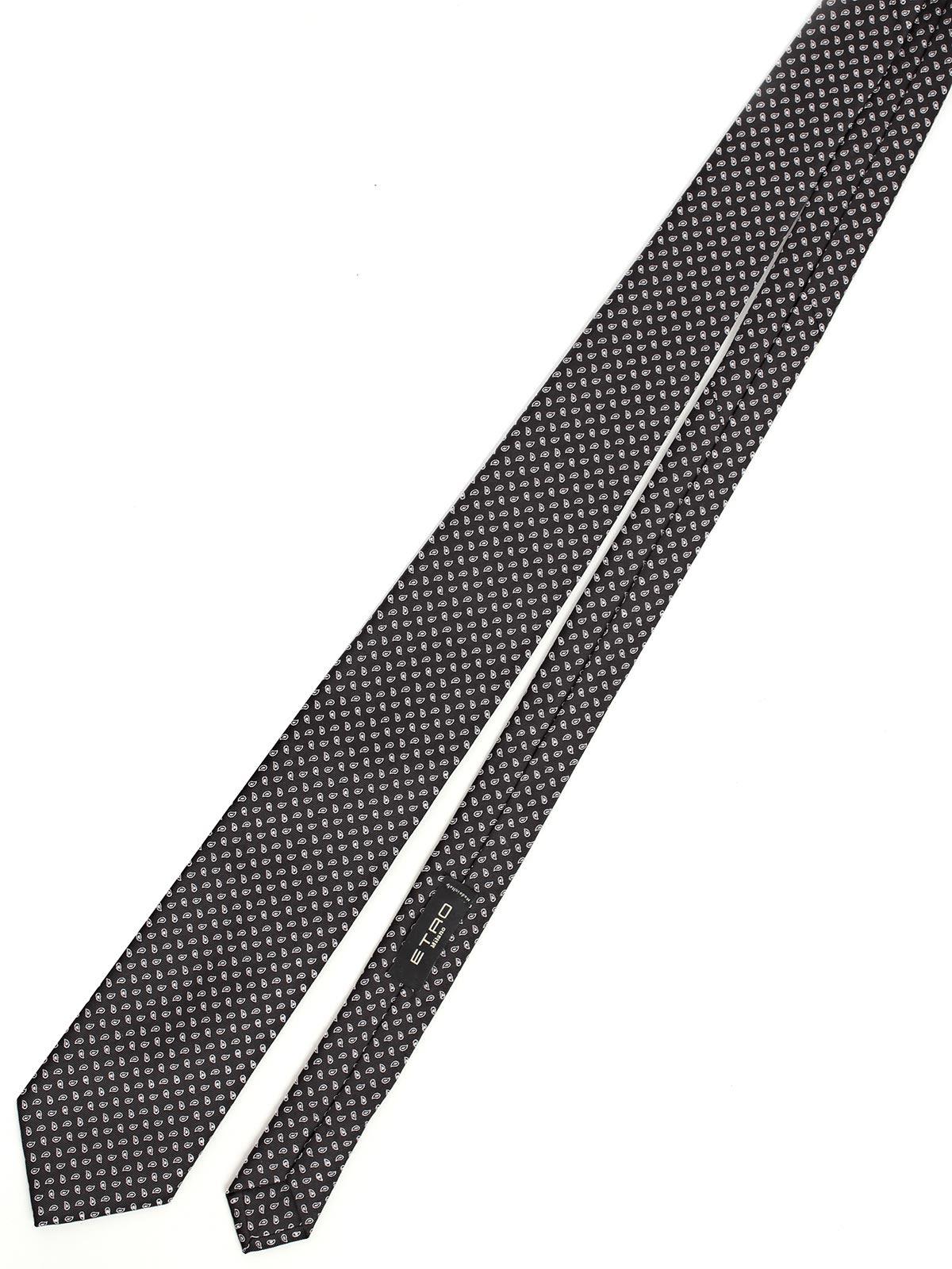 Etro Micro Pattern Jacquard Tie