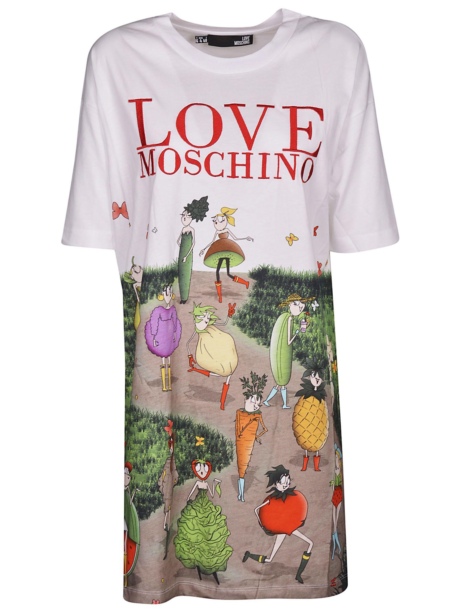 Love Moschino Garden T-shirt